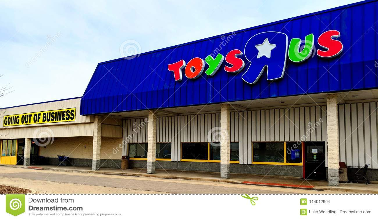 Toys R Us Going Out Of Business Editorial Stock Image Image Of