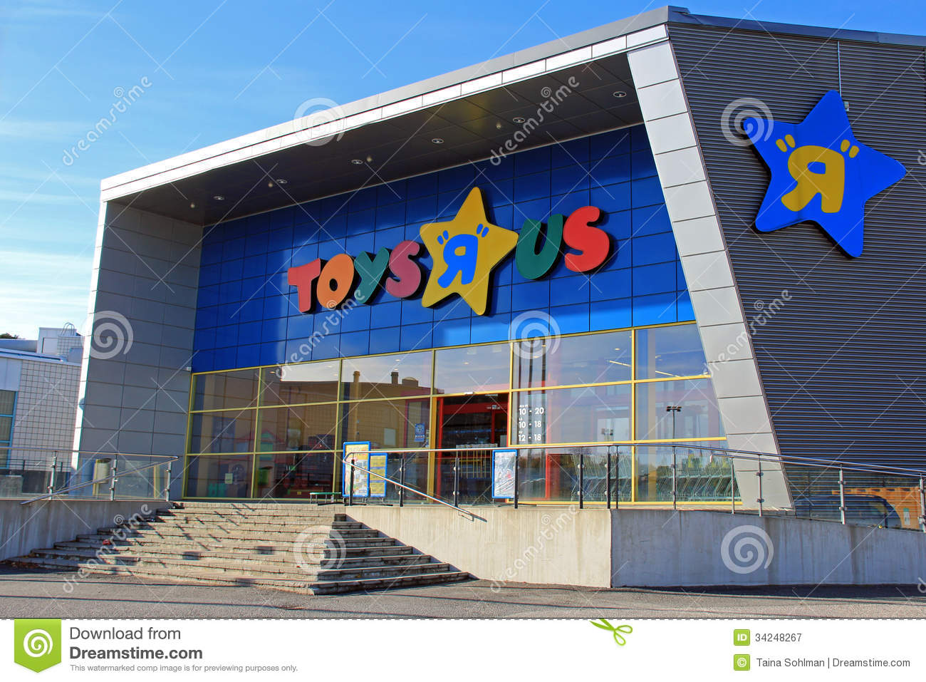 Toys r us store in turku finland editorial photography image 34248267 - Maisonnette toys r us ...