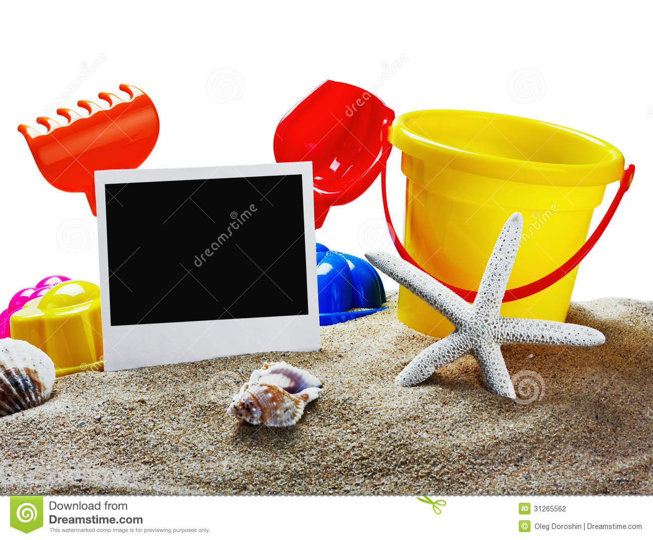Toys For Sandbox : Toys for sandbox stock photography image