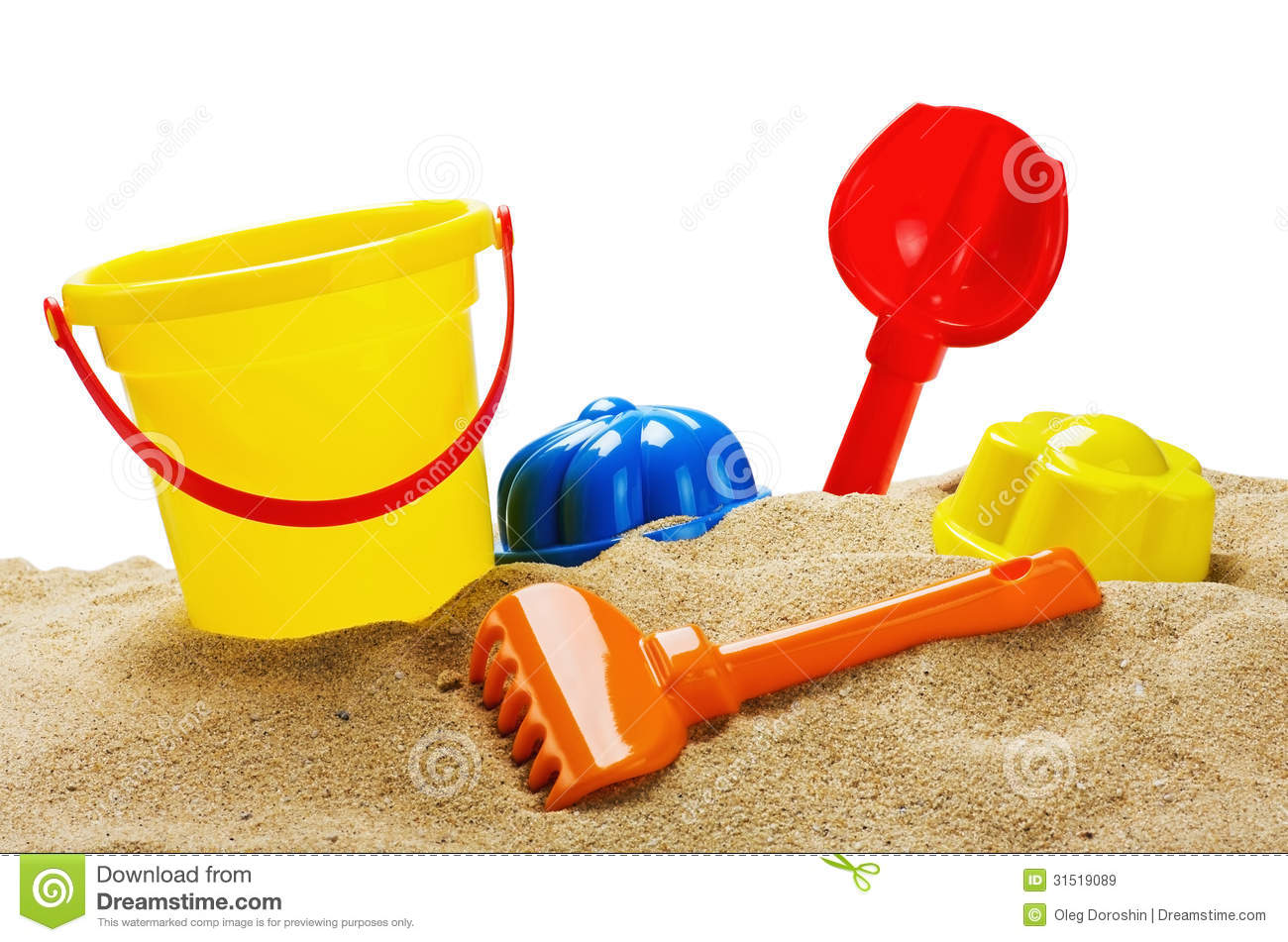 Toys For Sandbox : Toys for sandbox royalty free stock images image