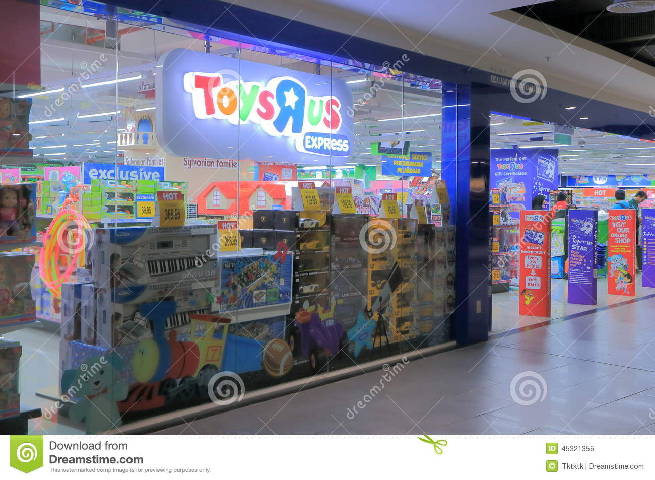 Toysrus shop editorial photo image 45321356 - Andador toysrus ...