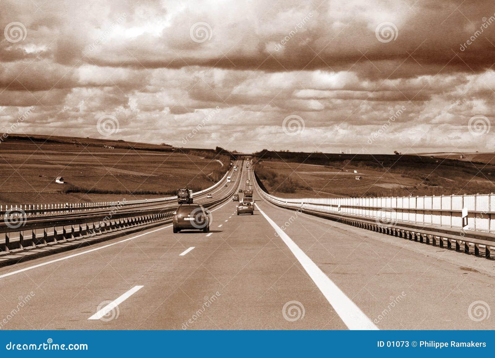 Tráfego da estrada