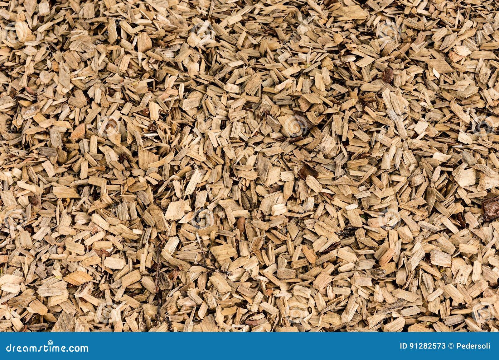 Trä som skäller komposttäckningtexturbakgrund