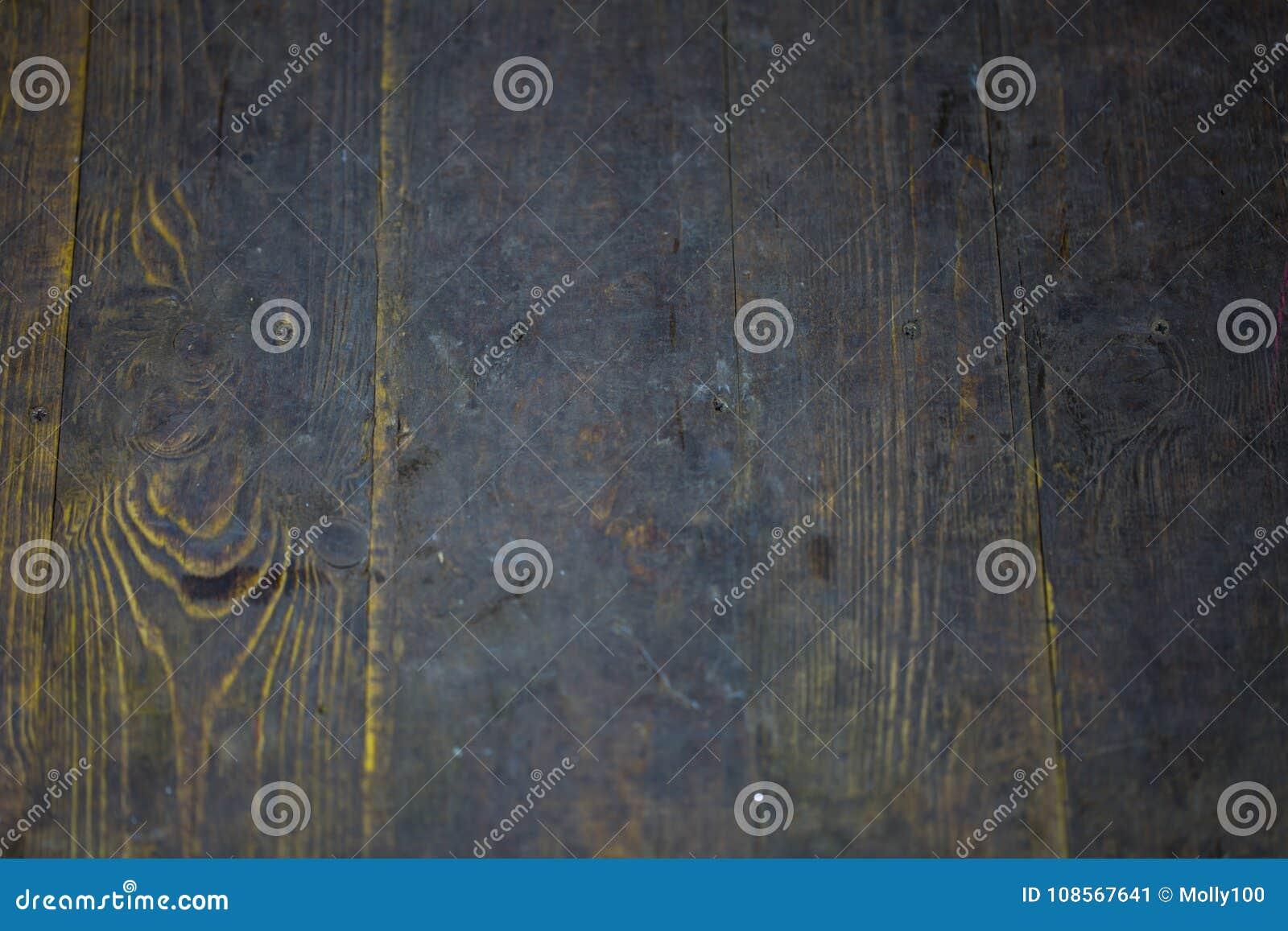 Träbakgrund, mörkt trä