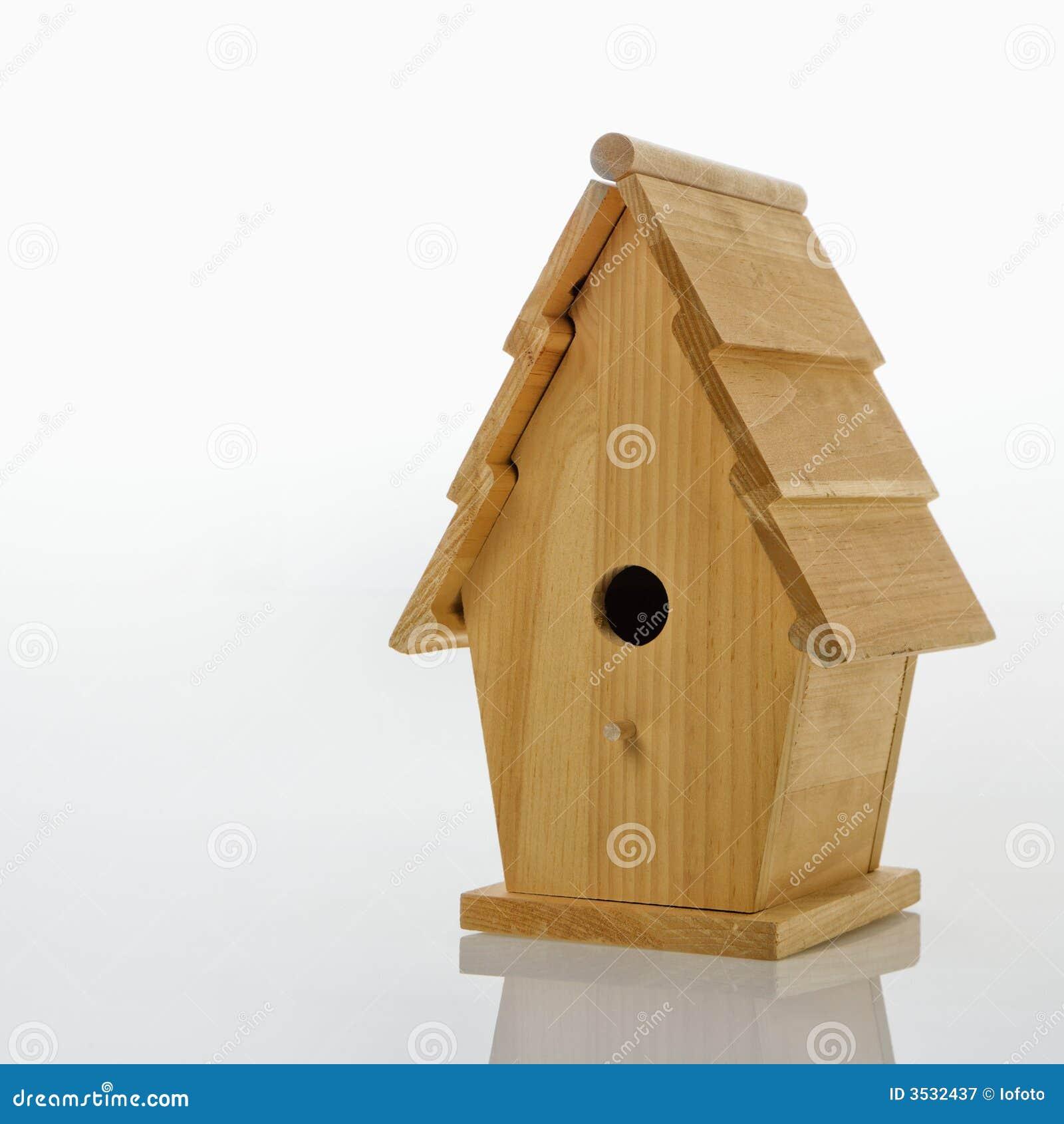 Träbirdhouse