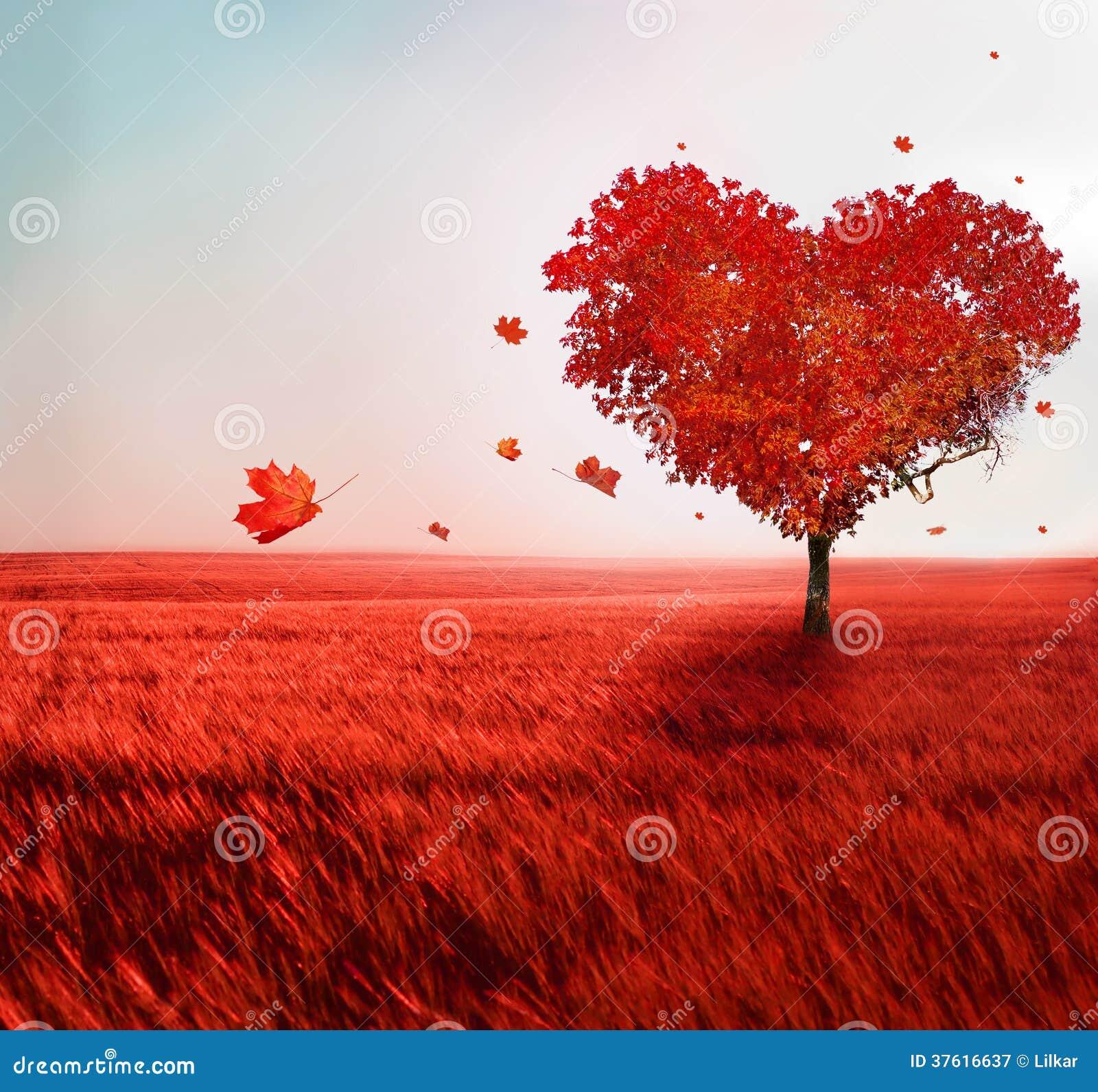 Träd av förälskelse