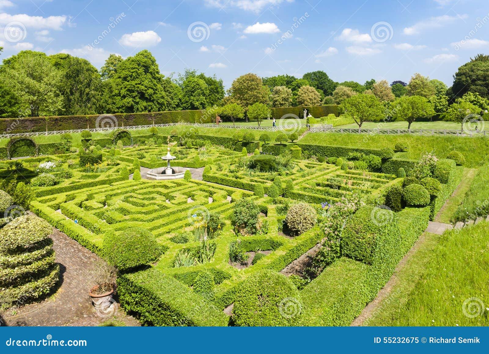 Trädgård av det Hatfield huset