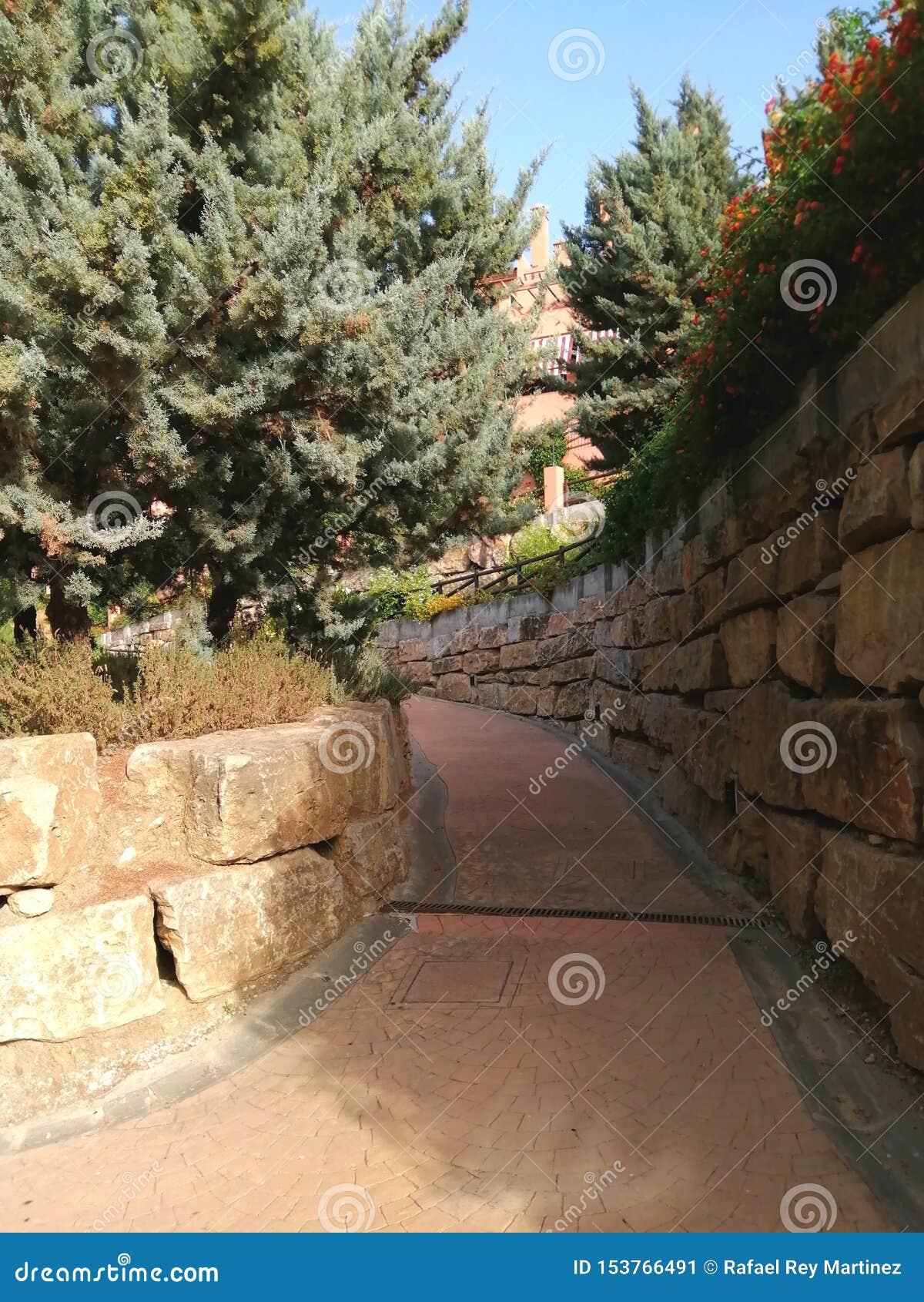 Trädgårdar Campanariode Retamara-Alhaurin de la Torre