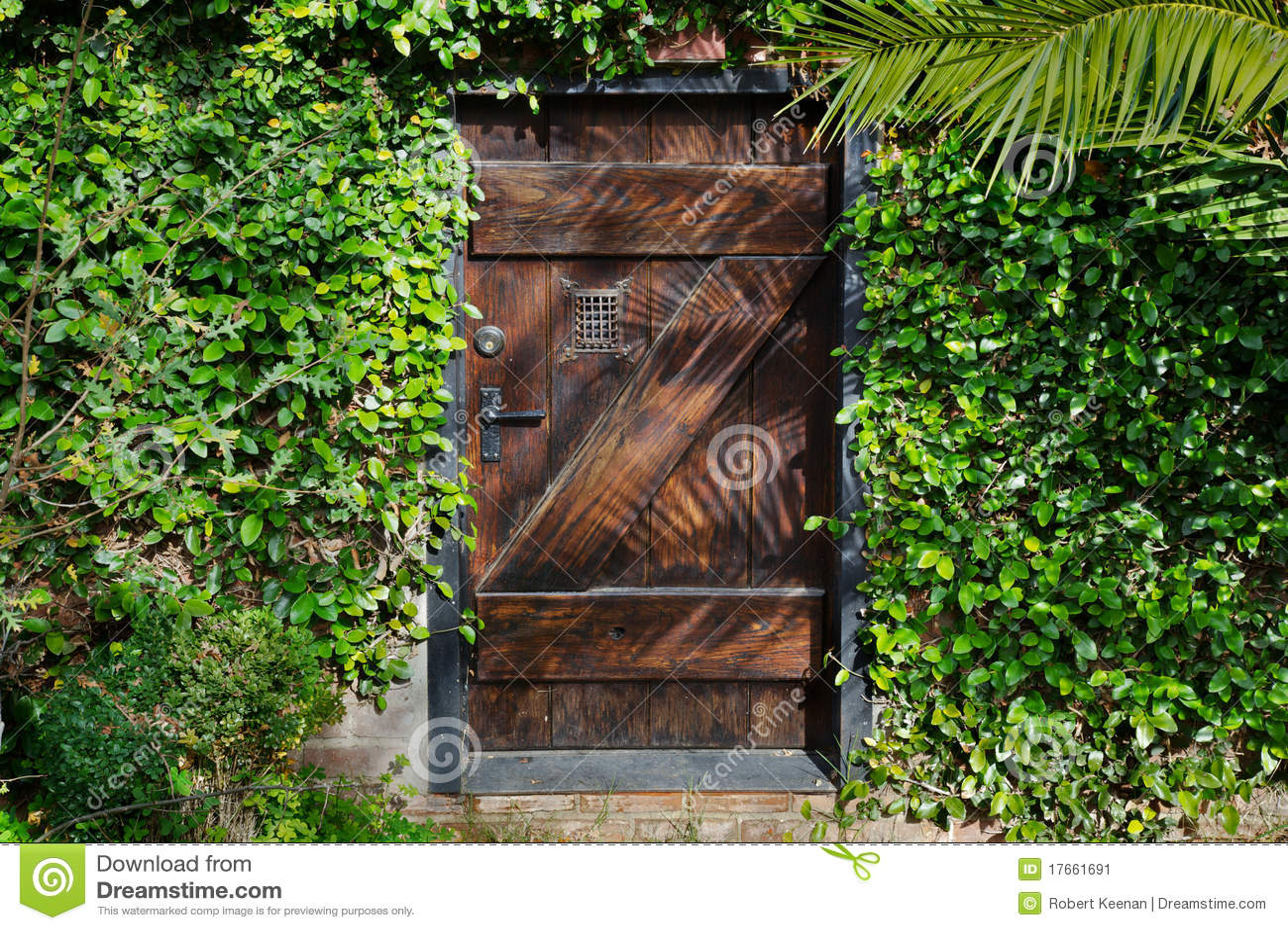 Trädgårds- horisontal hemlighet för dörr