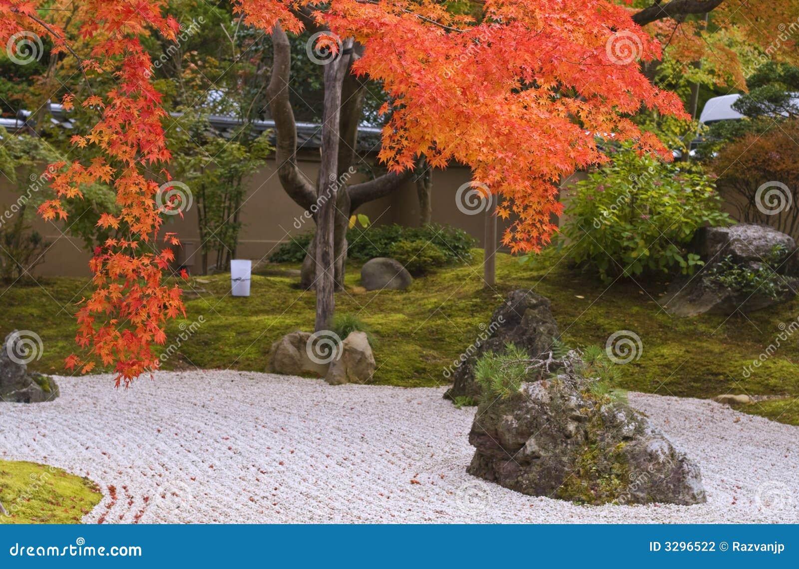 Trädgårds- japan för höst