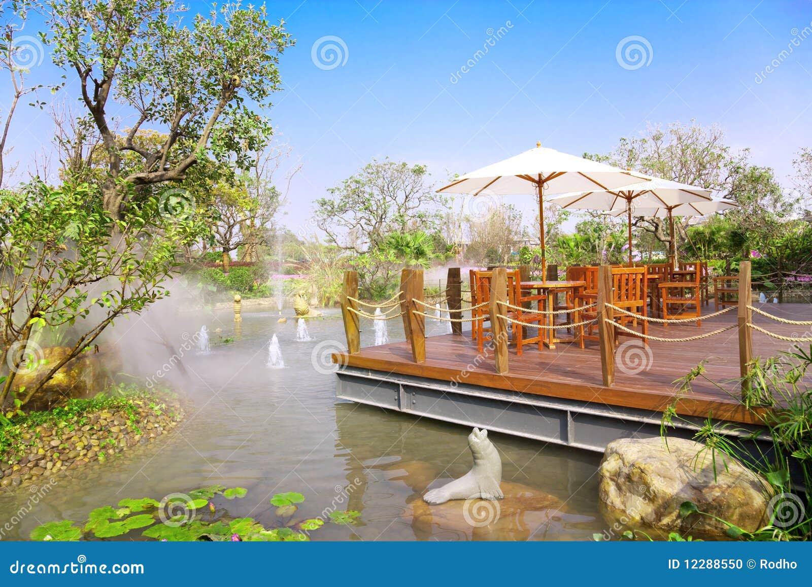 Trädgårds- landskap