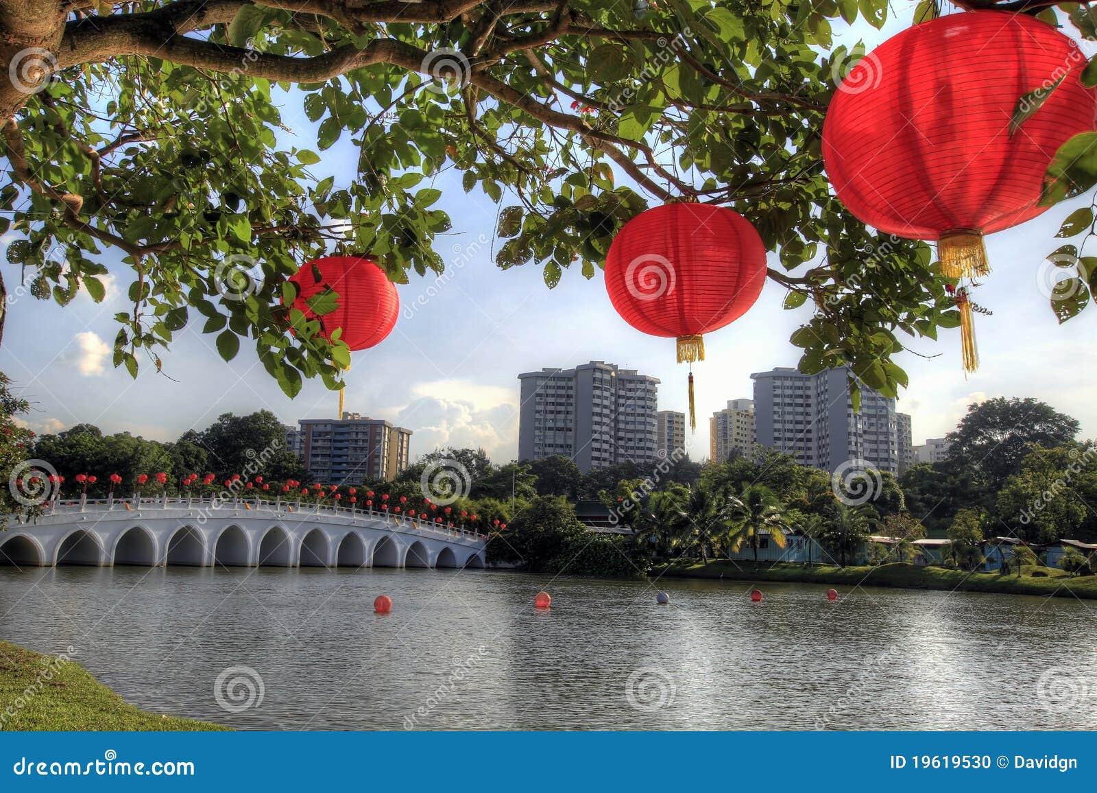 Trädgårds- lyktared för kines