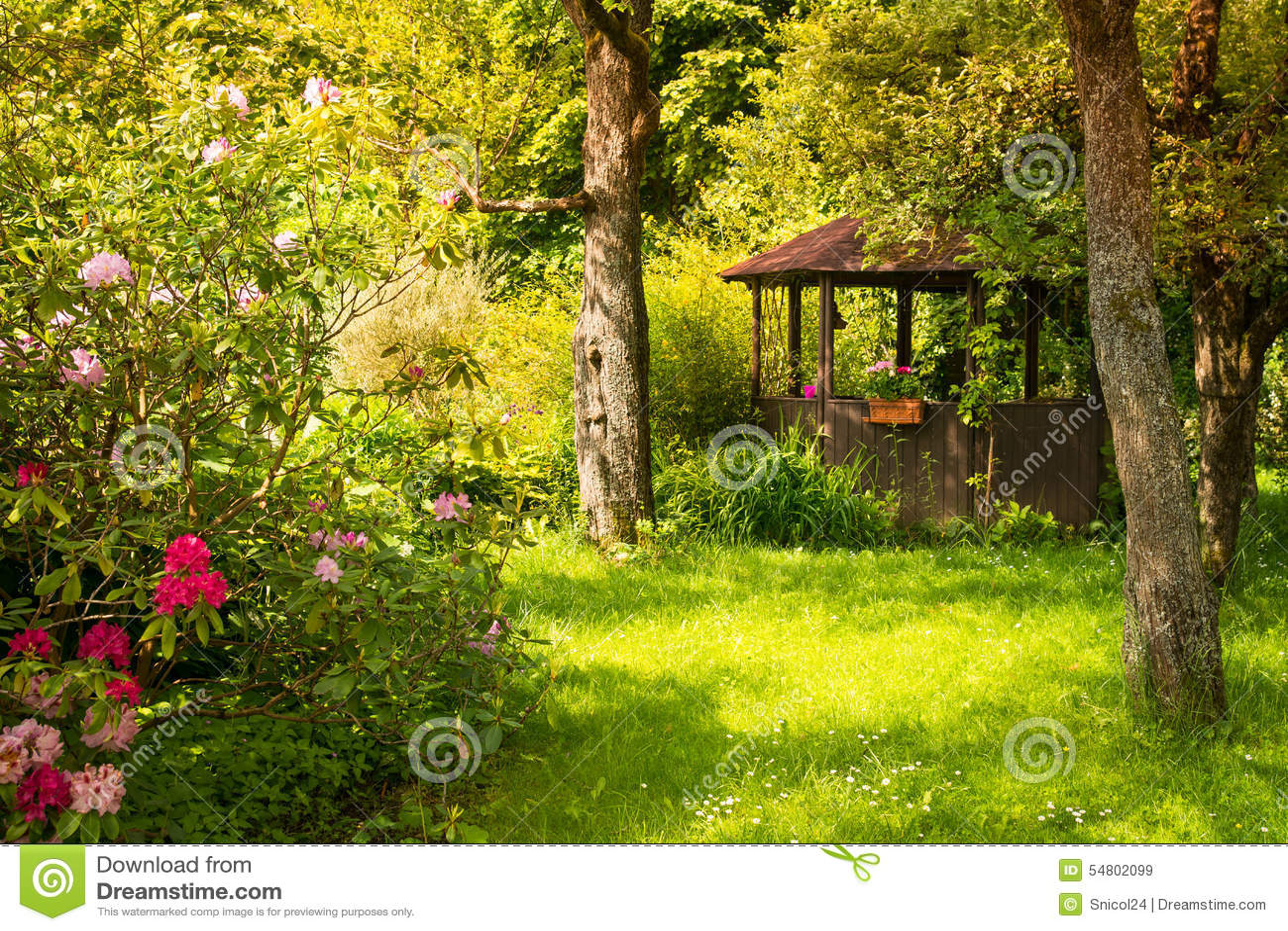Trädgårds- magi