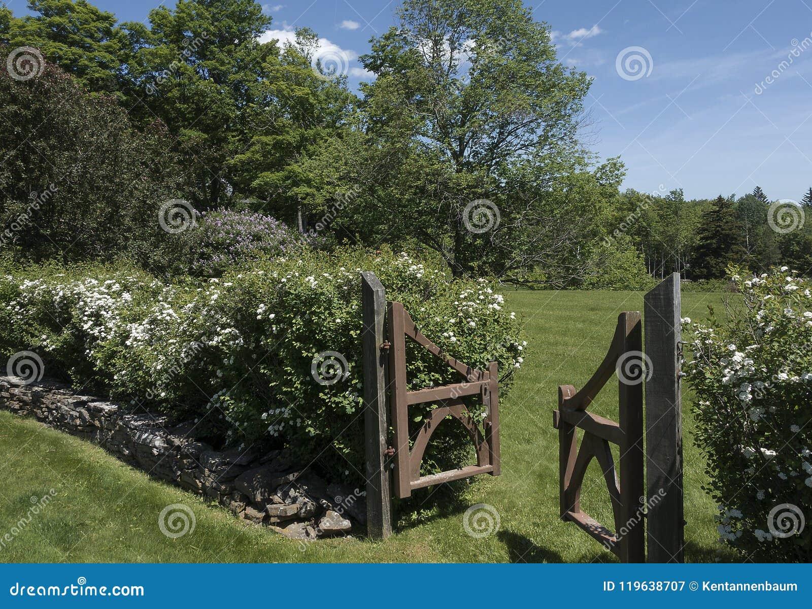 Trädgårds- nyckel för trä