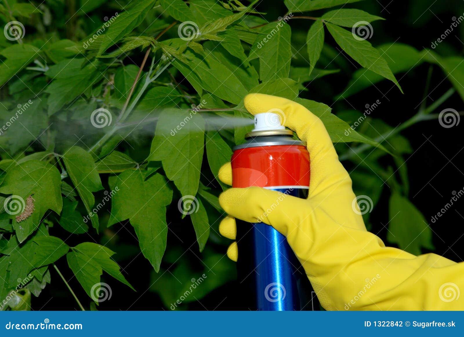 Trädgårds- pesticiding