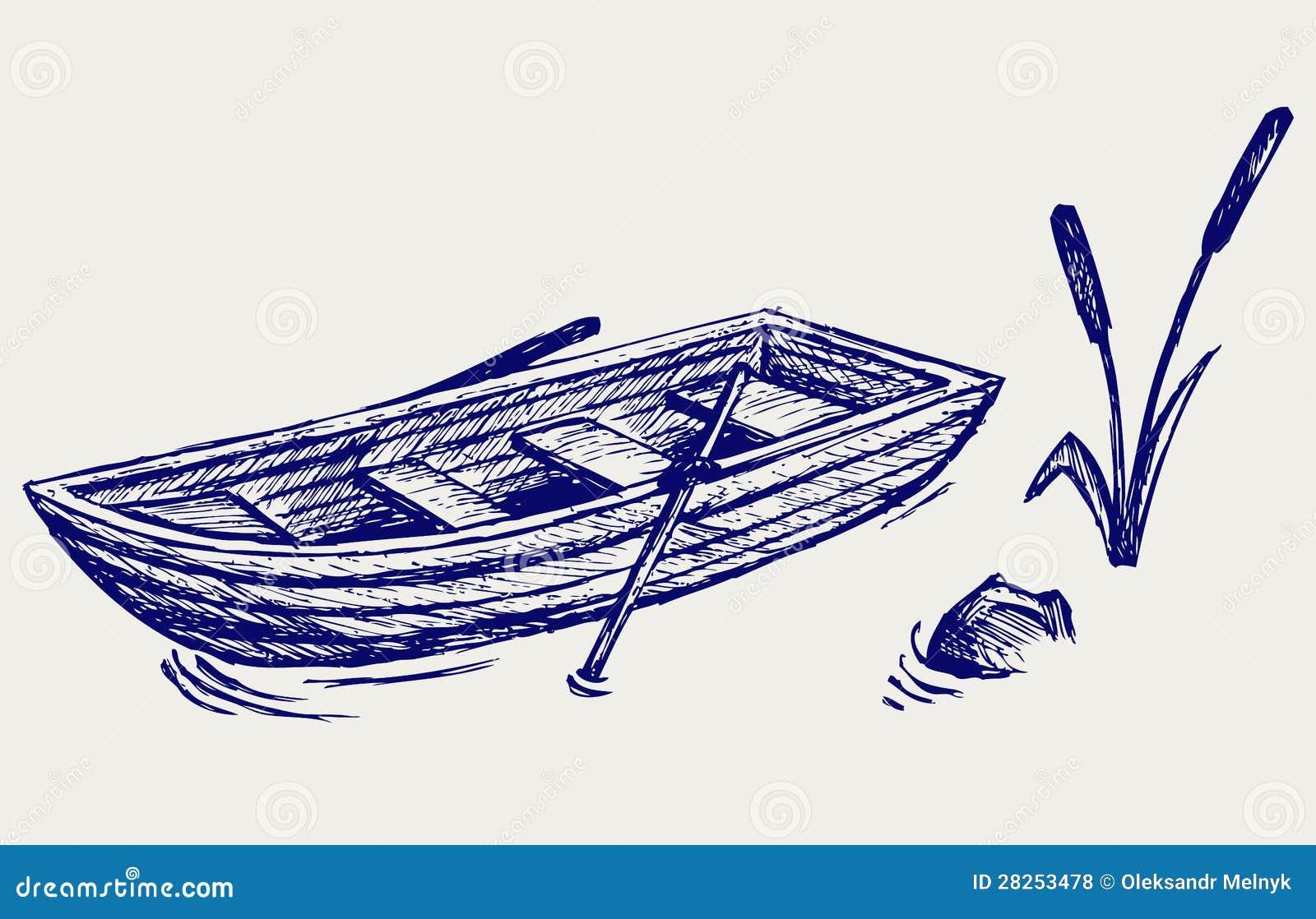 Träfartyget med paddlar
