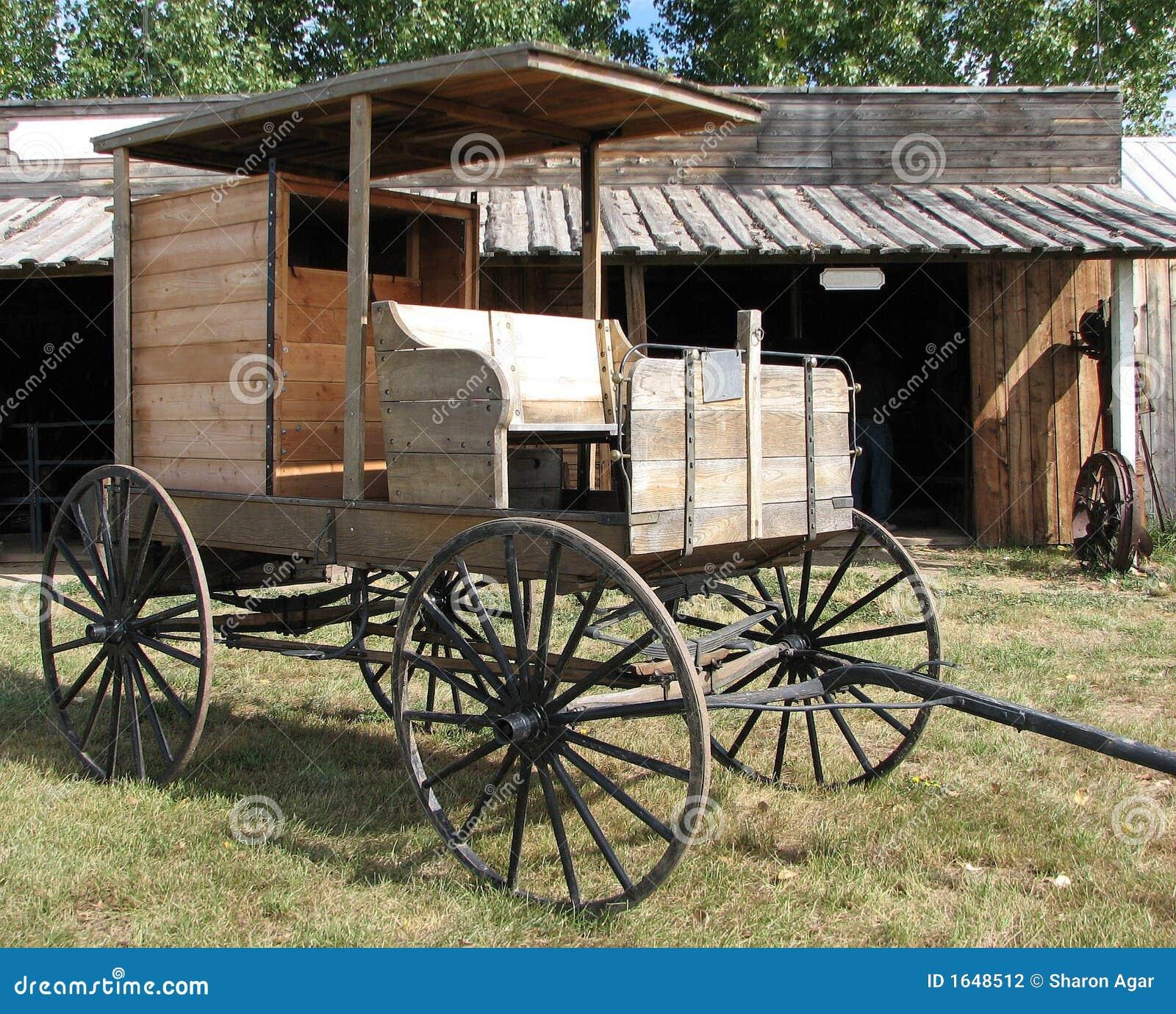 Träleveransvagn