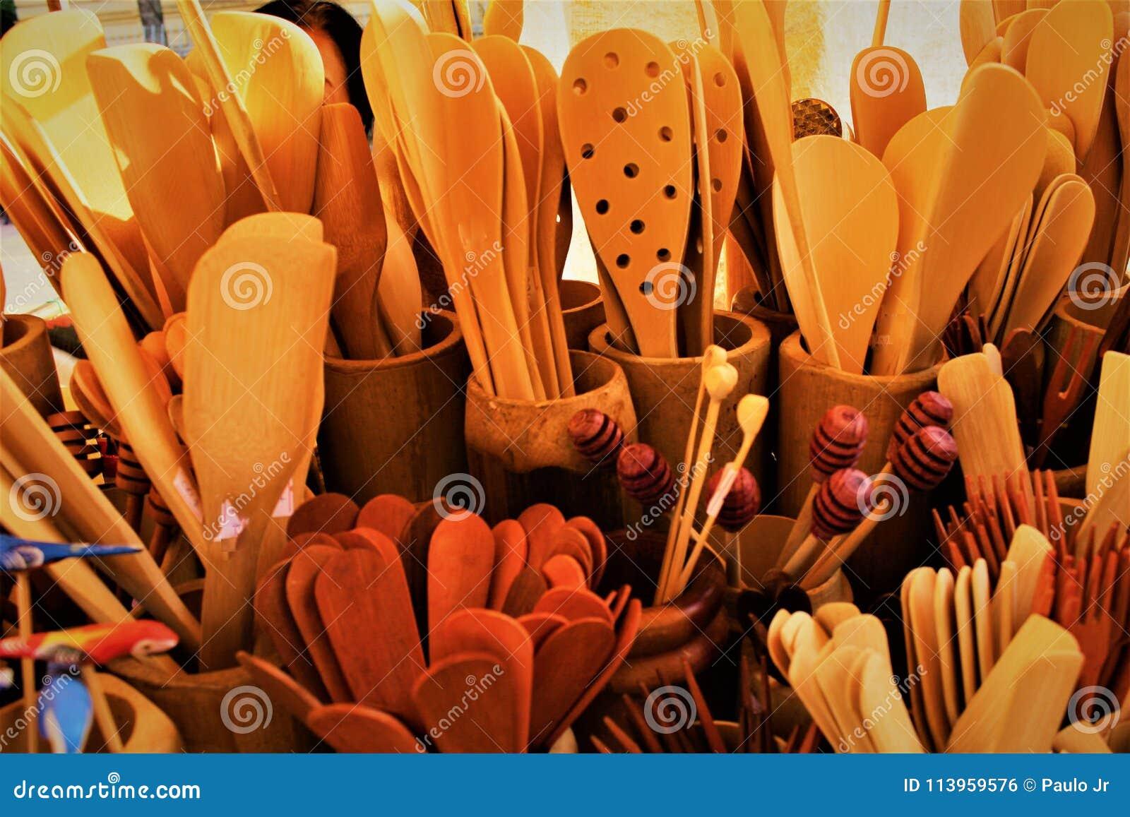 Träskedarna och deras textur