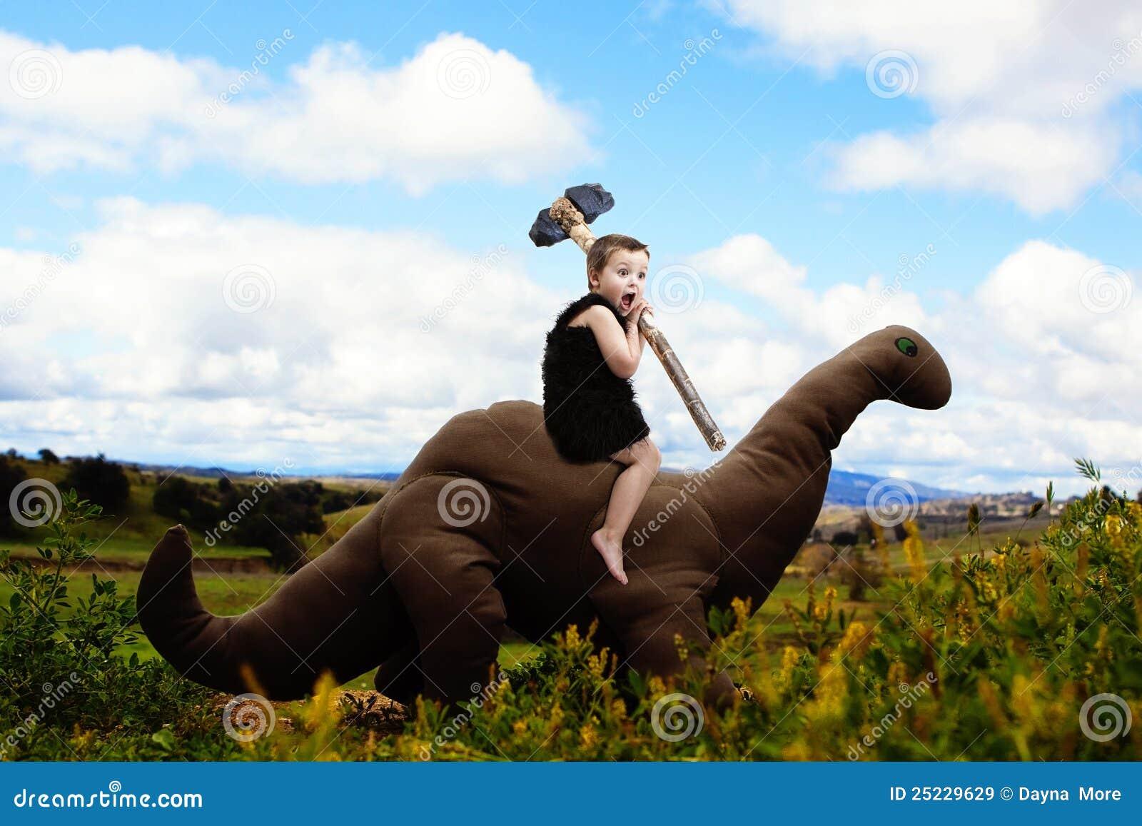 Träumerische Abenteuer des Dino-Jungen
