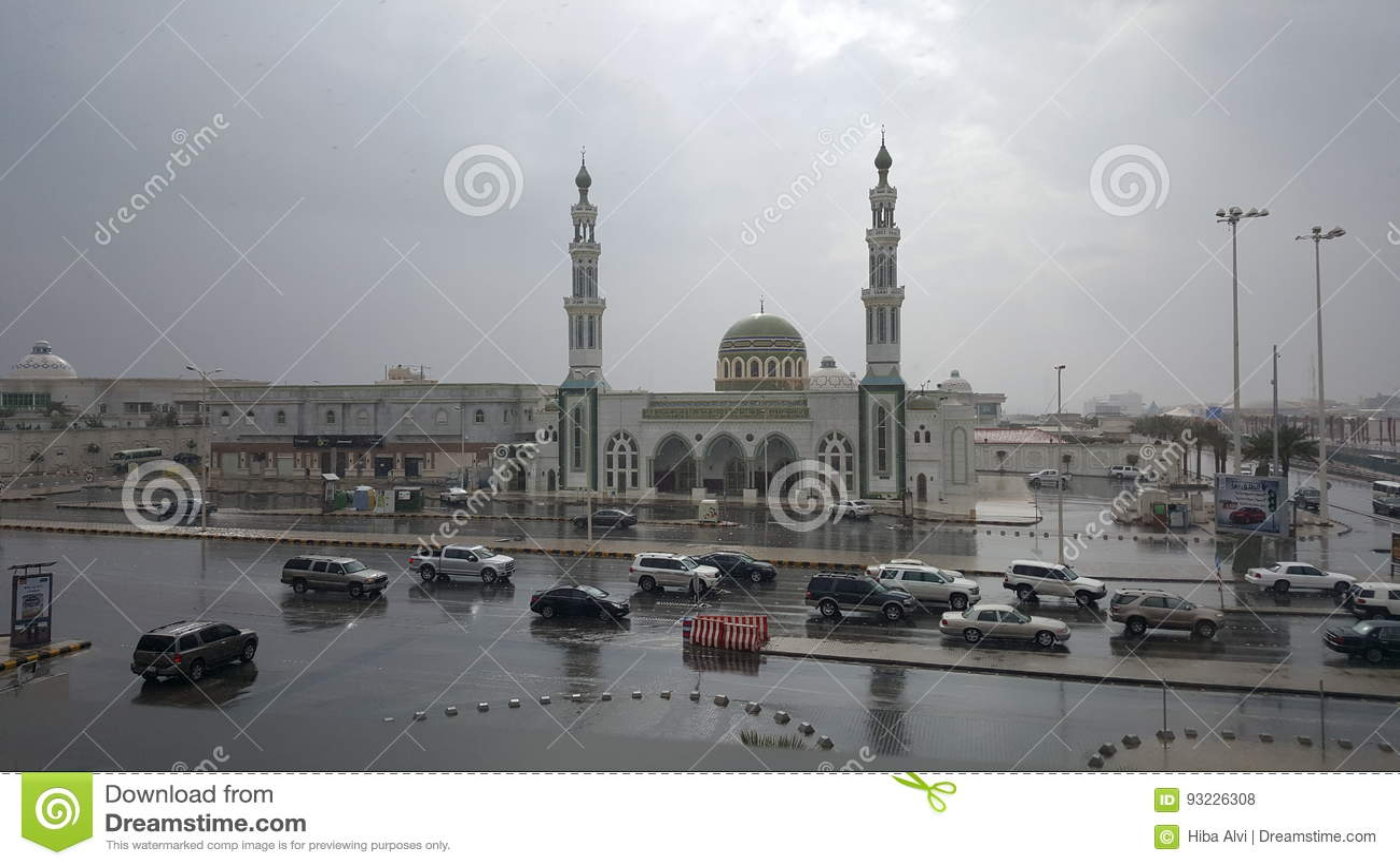 Träumerische Moschee