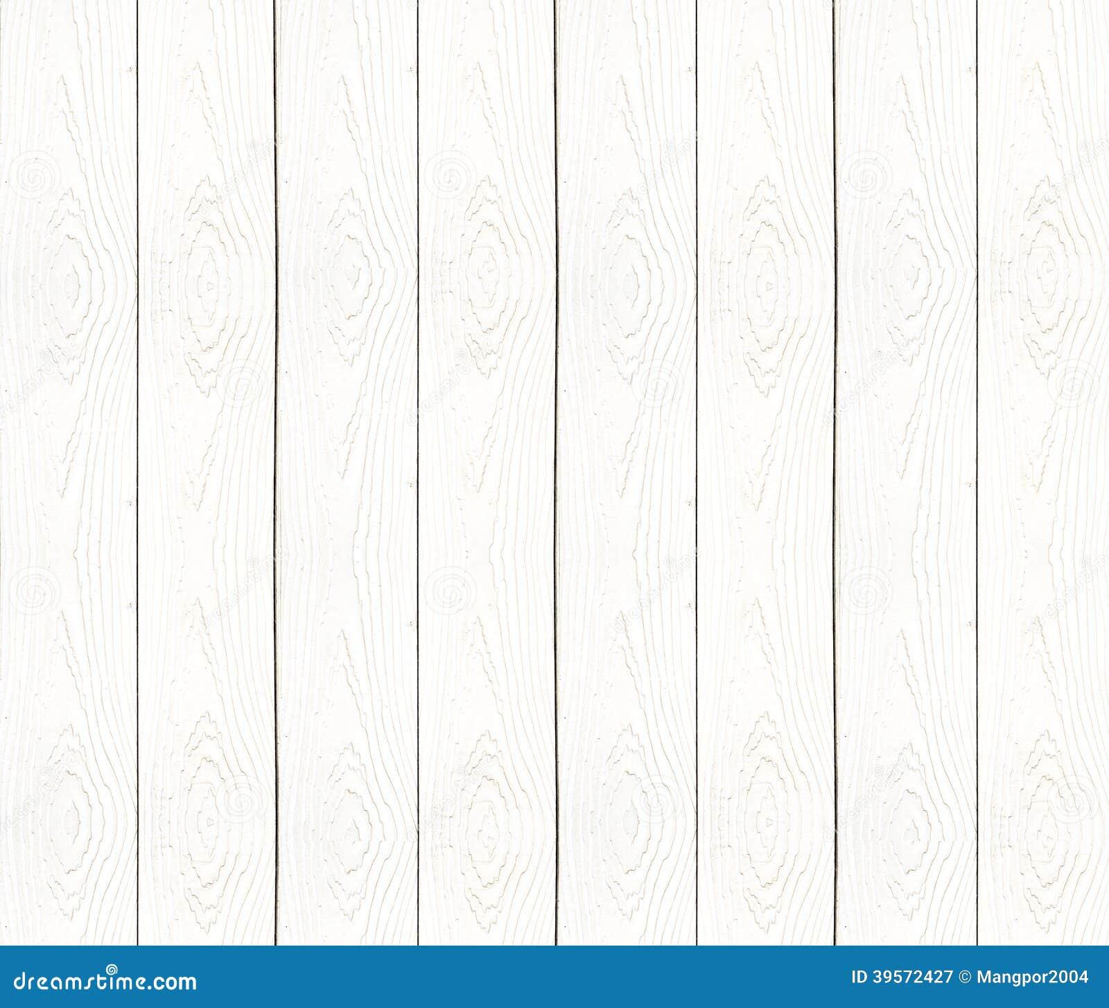 Träväggtextur för vit tappning.