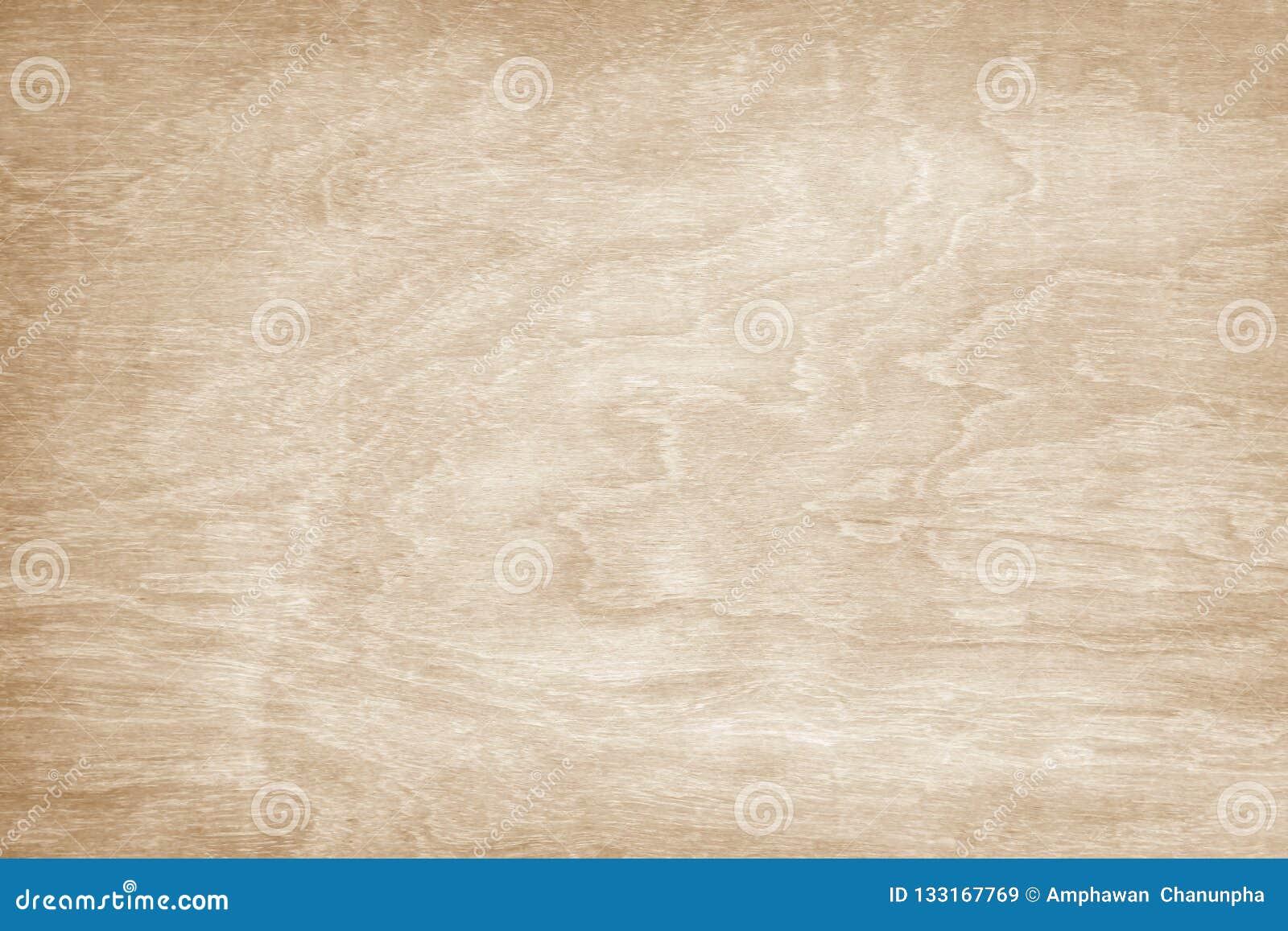 Träväggtexturbakgrund som är ljus - bruna naturliga vågmodeller som är abstrakta i horisontal