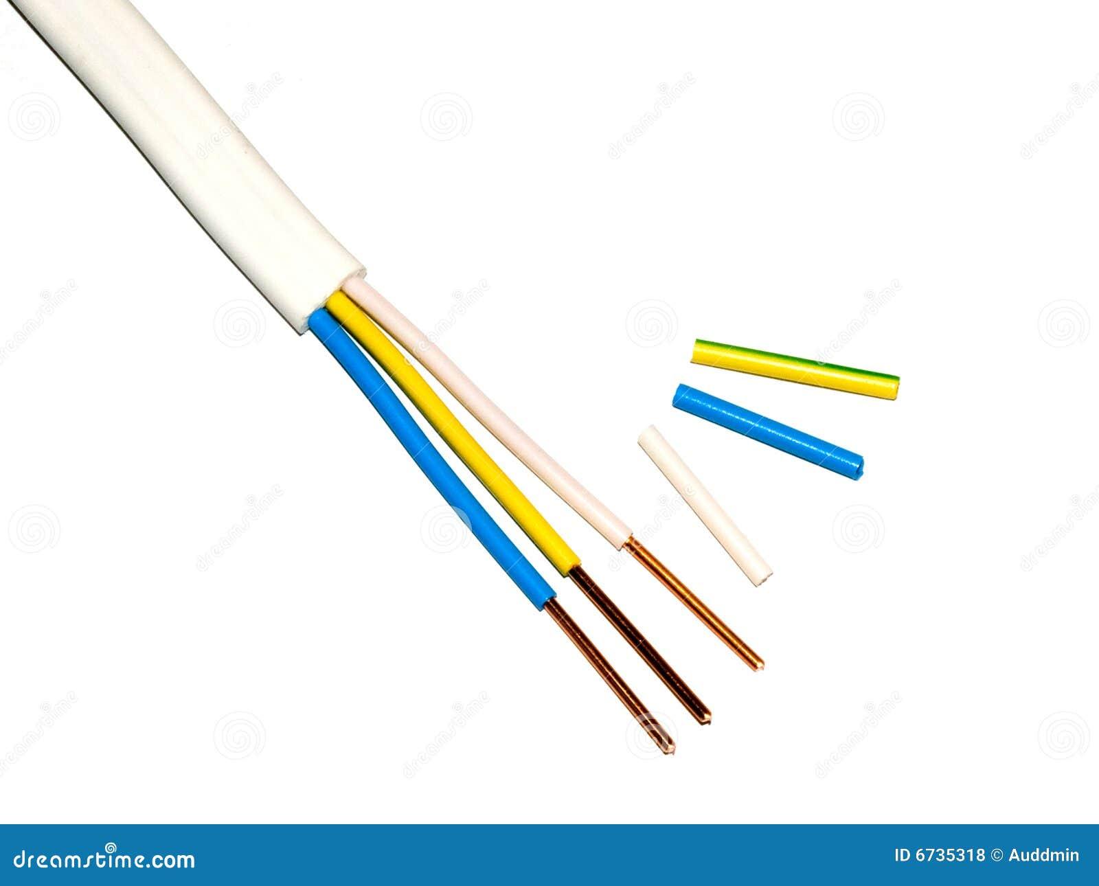 Trådar för elektrisk kabel
