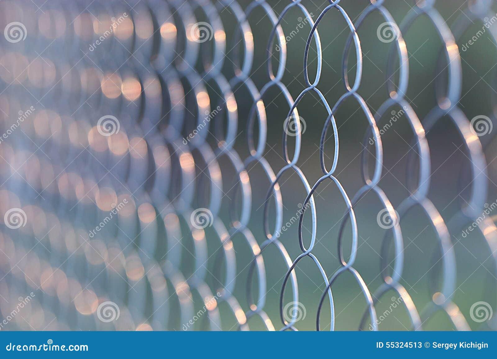 Trådmetall som förtjänar staketet