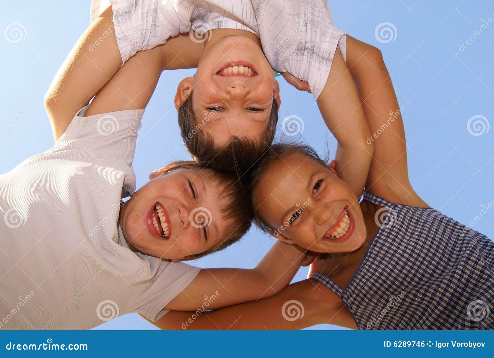 Três amigos do preteen