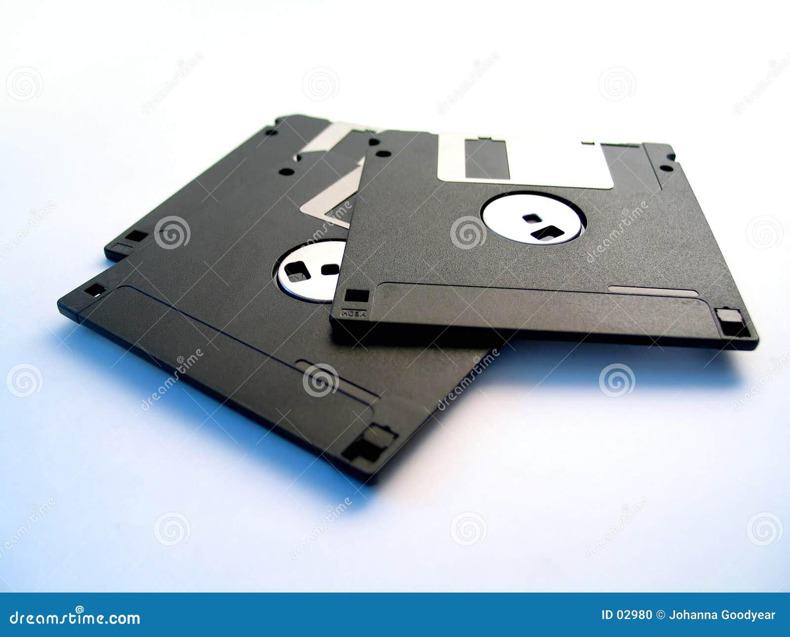 Três discos flexíveis