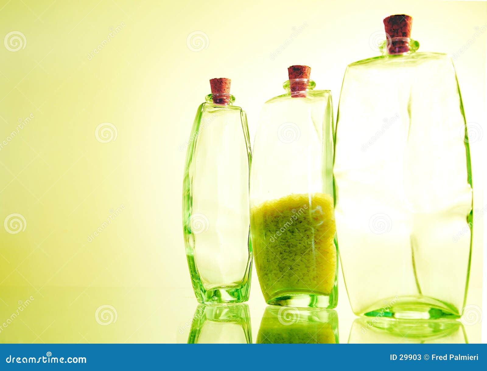 Três frascos
