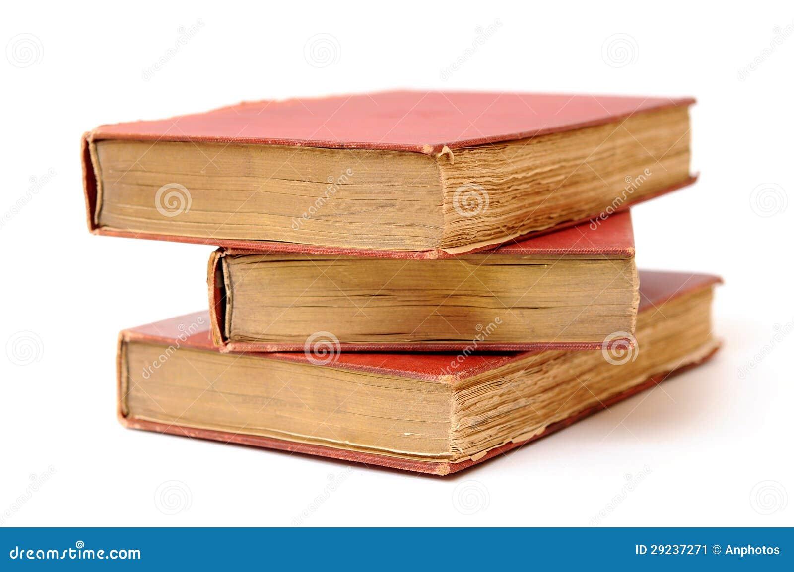 Download Três livros antigos imagem de stock. Imagem de grunge - 29237271
