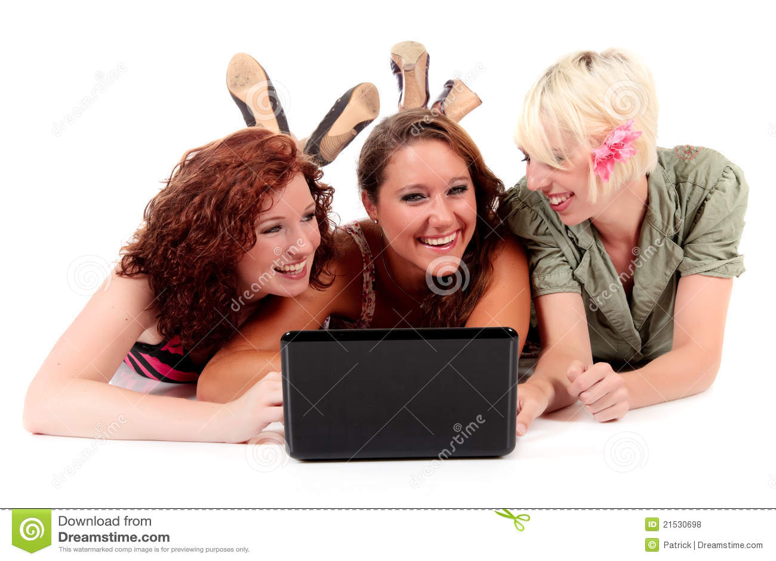 Três mulheres atrativas novas
