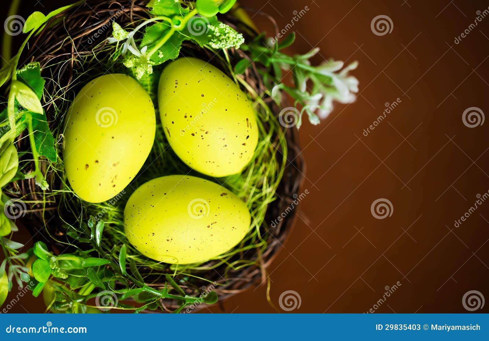 Três ovos da páscoa