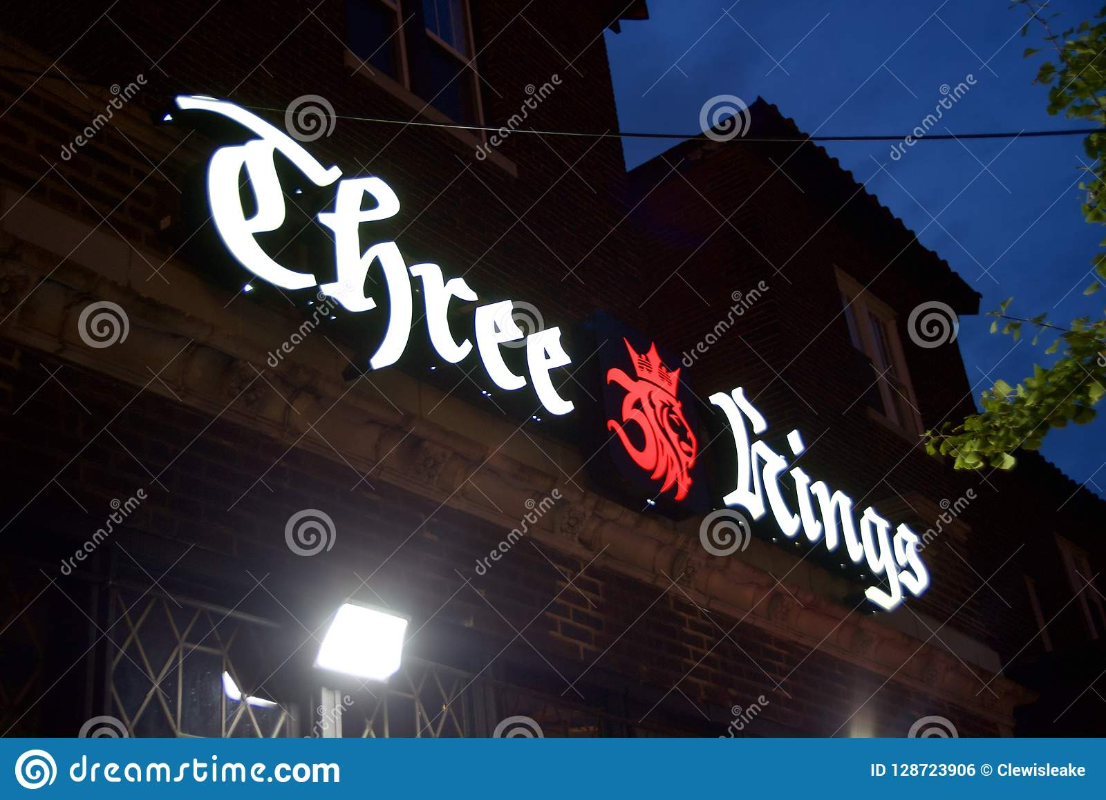 Três reis Bar e restaurantes, St Louis Missouri