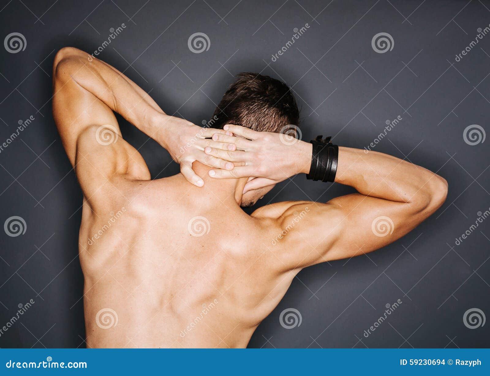 Download Tríceps y trapecio foto de archivo. Imagen de tríceps - 59230694