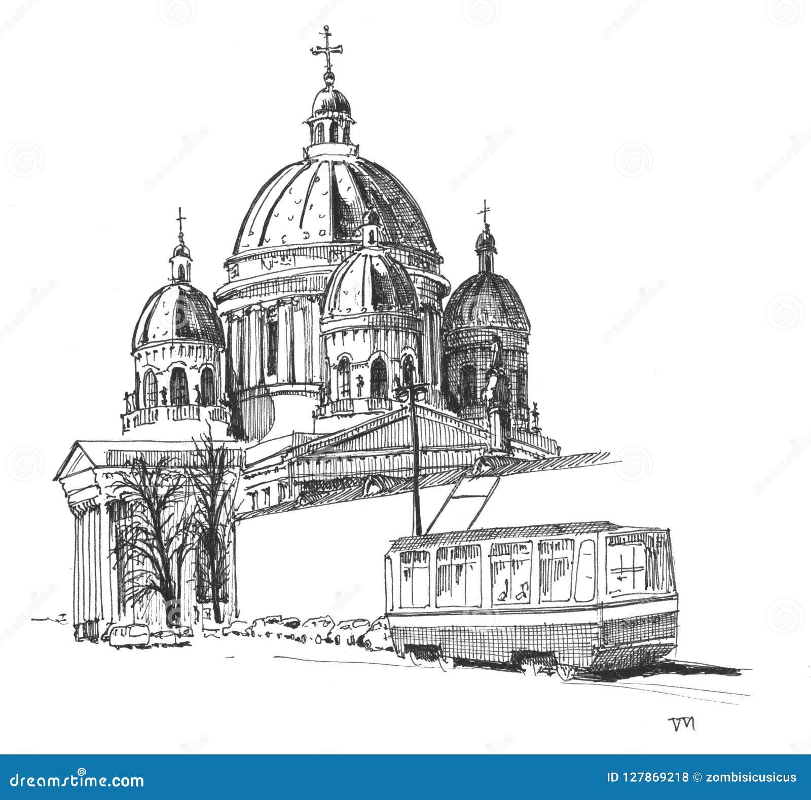 Trójcy katedra, święty Petersburg