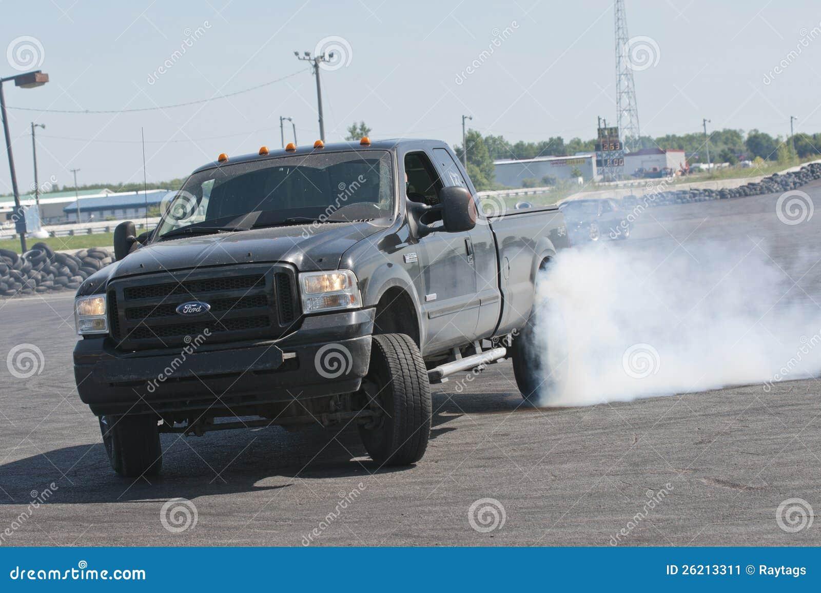 Tração do caminhão