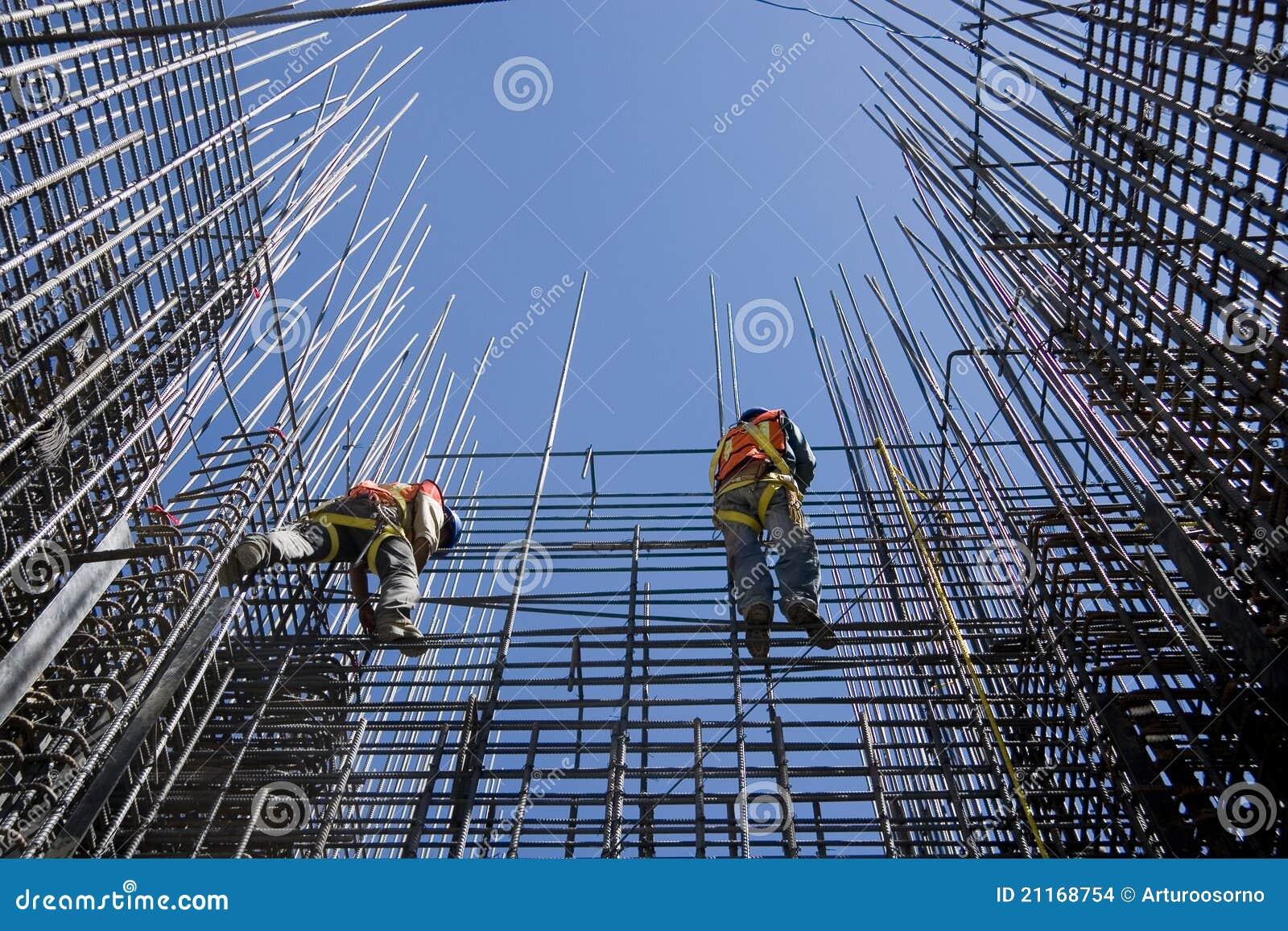 Trabajadores de construcción