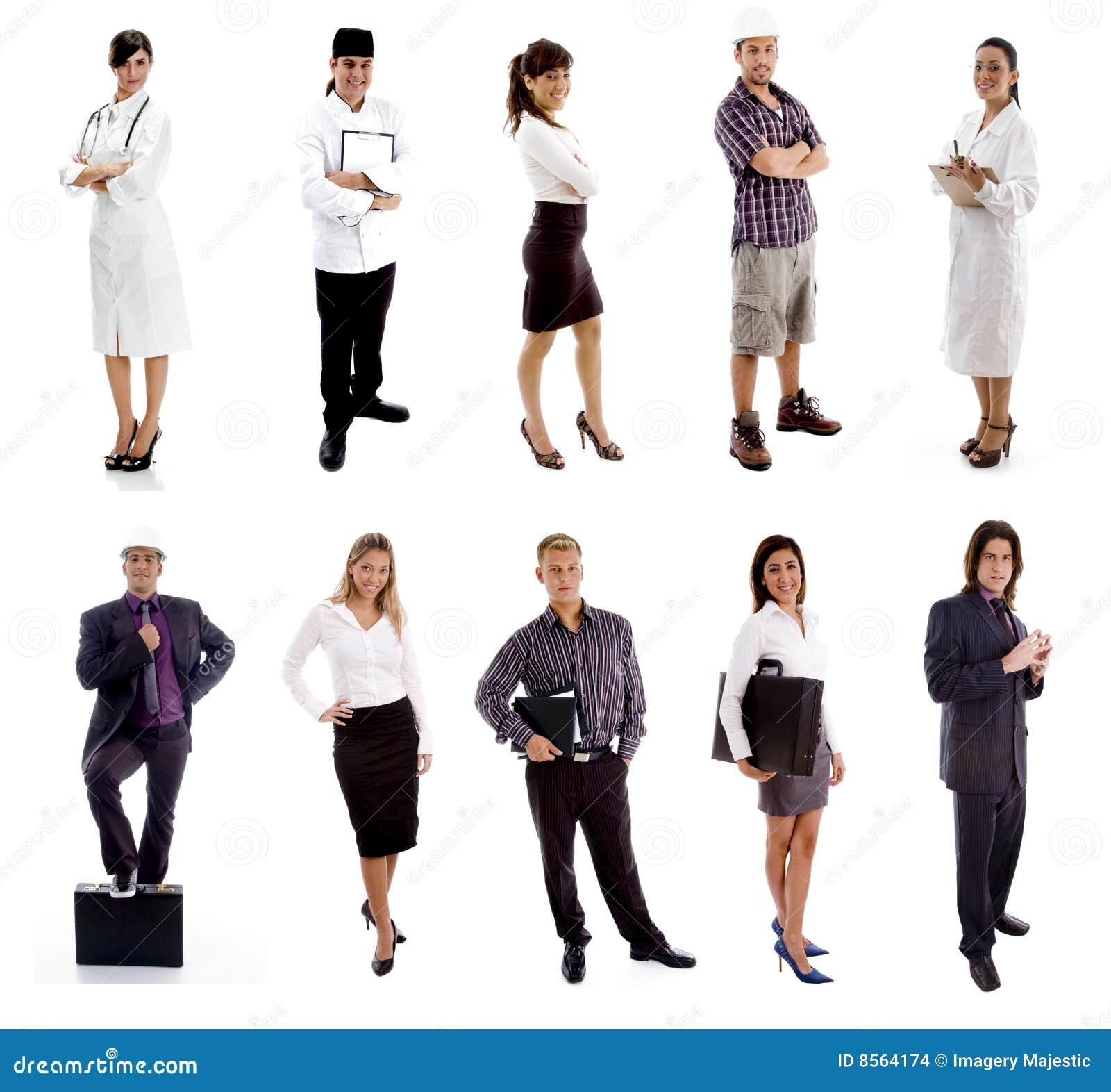 Trabajadores - grupo de personas