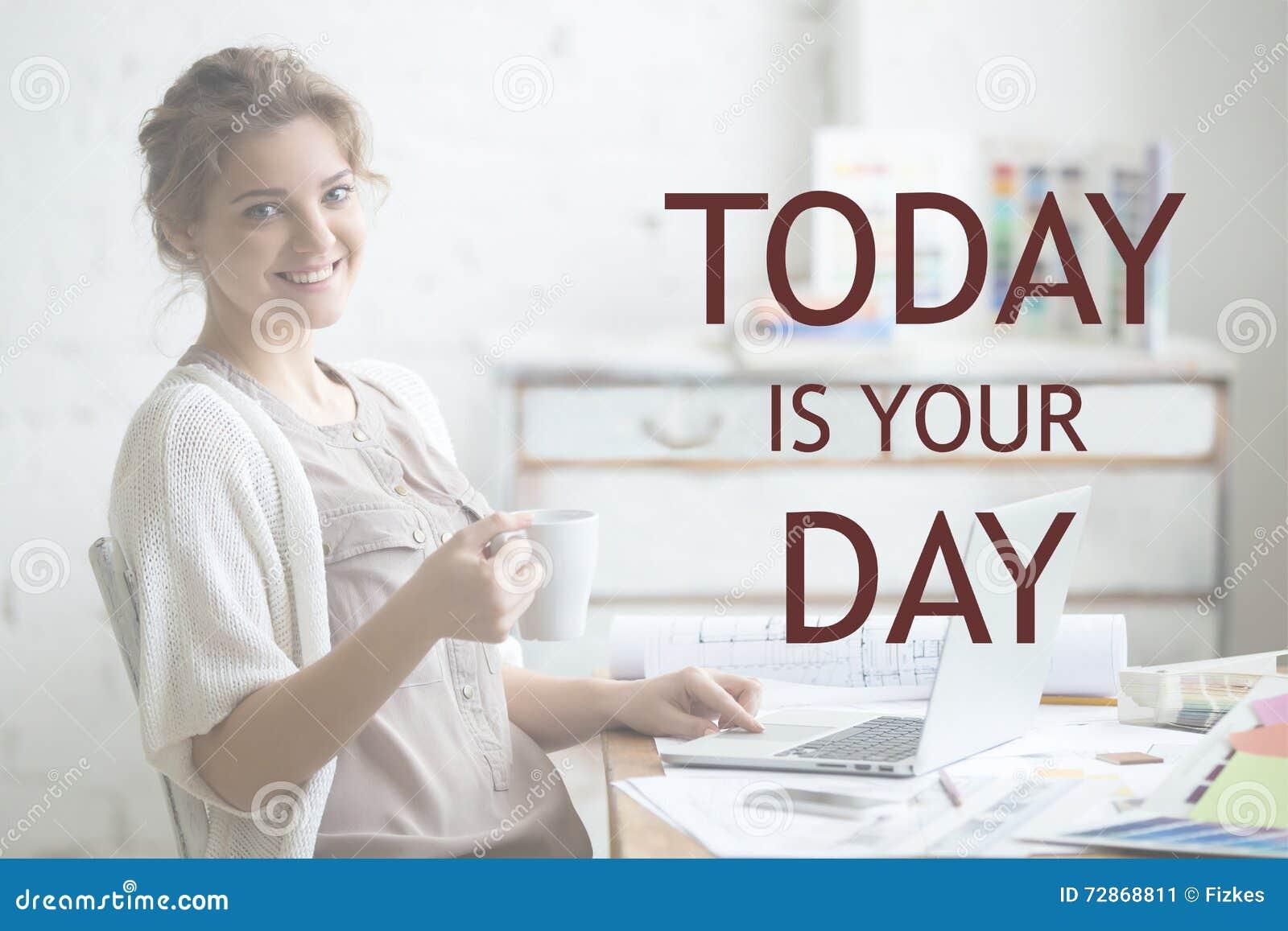 Trabajo con placer Frase de motivación