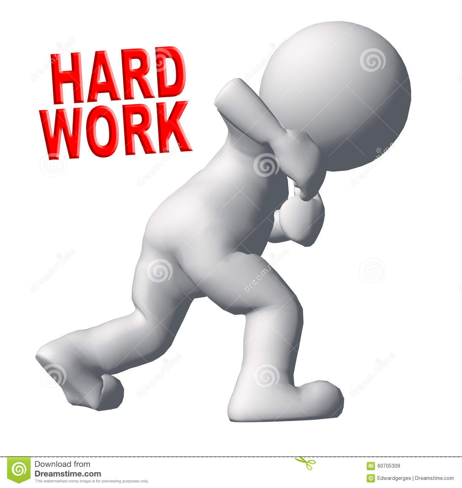 Trabajo duro