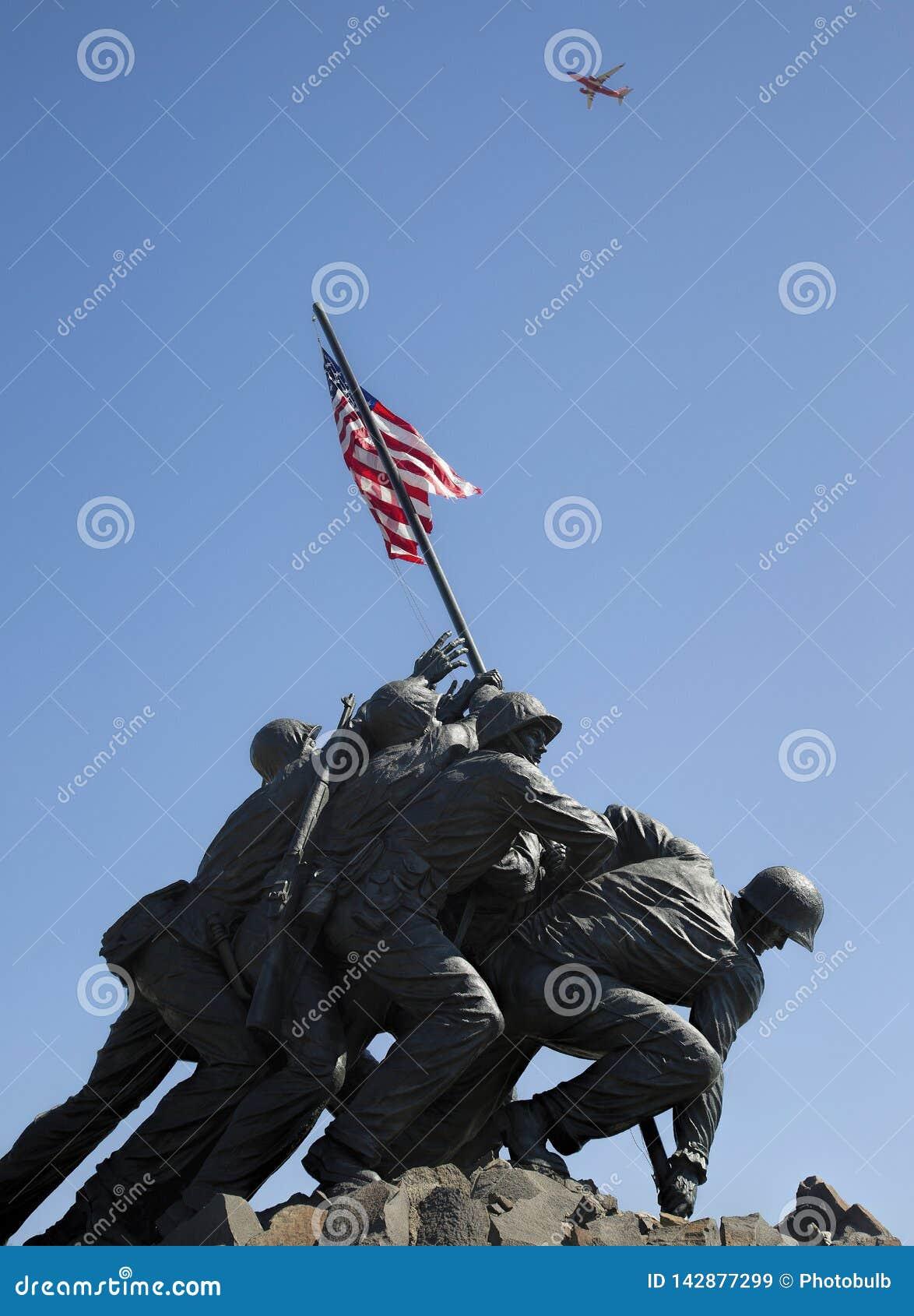 Trabajo en equipo Batalla-endurecido--U S marines