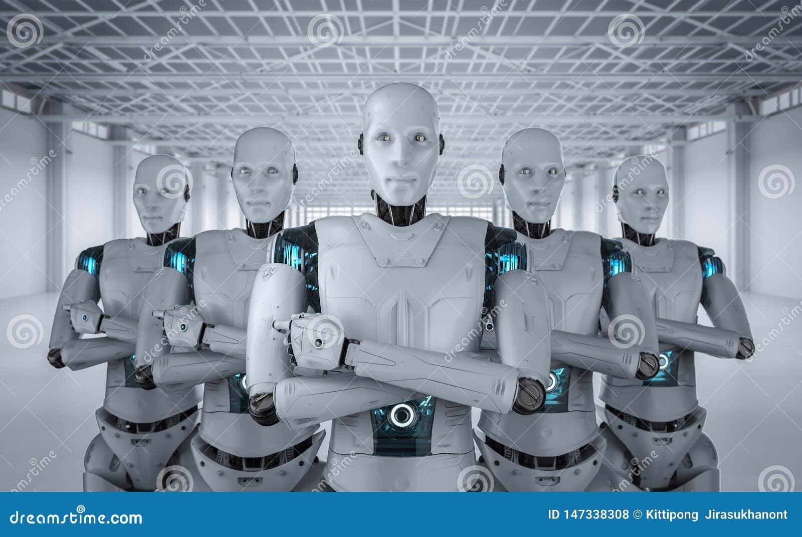 Trabajo en equipo de la inteligencia artificial