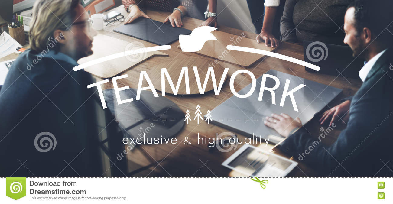 Trabajo en equipo Team Building Spirit Togetherness Concept