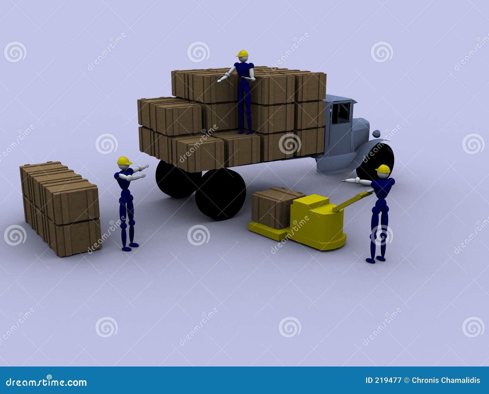 Trabalhadores 3d