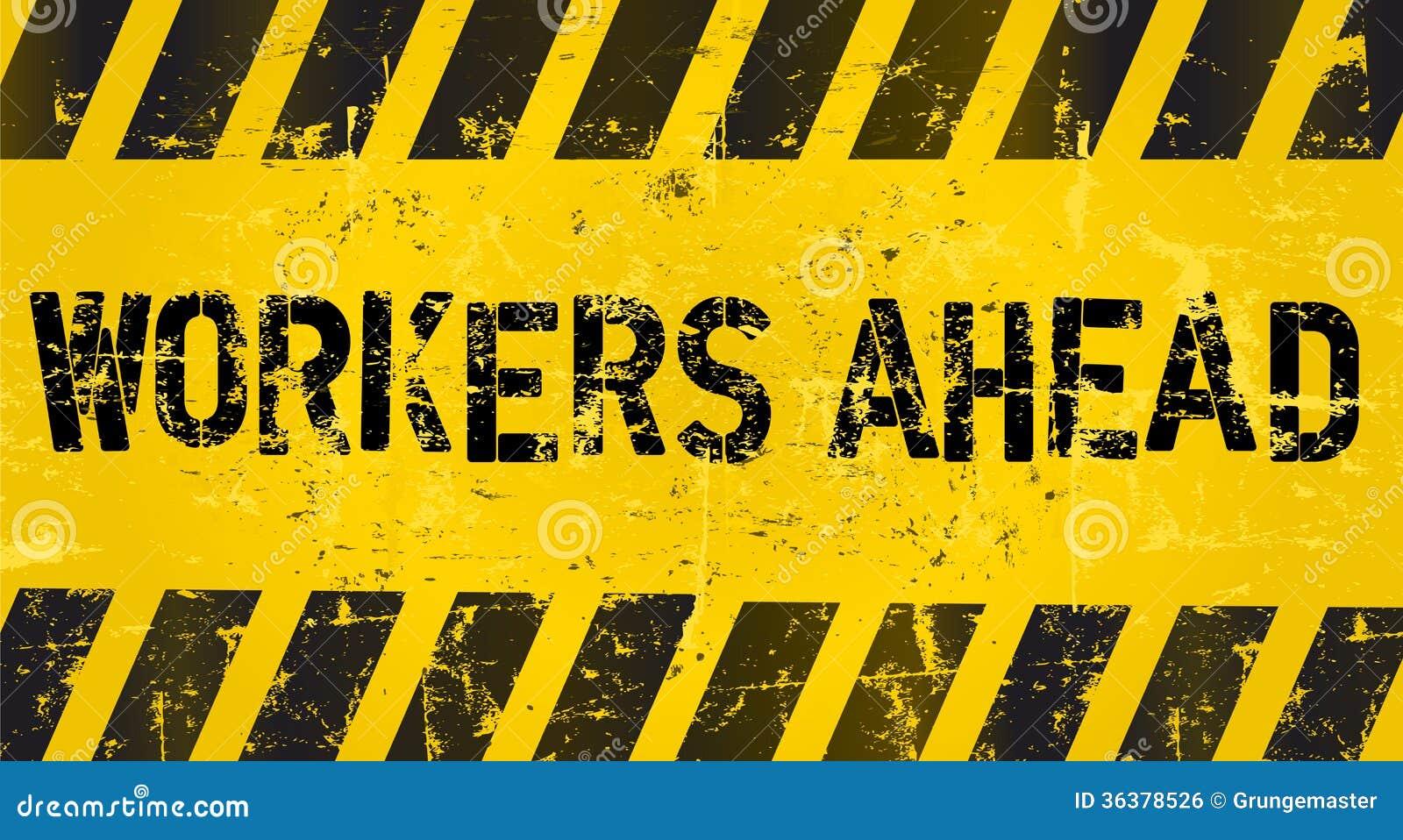Trabalhadores adiante