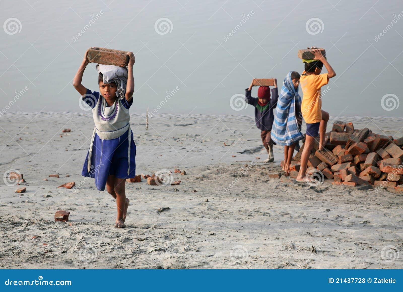 Trabalhadores da criança