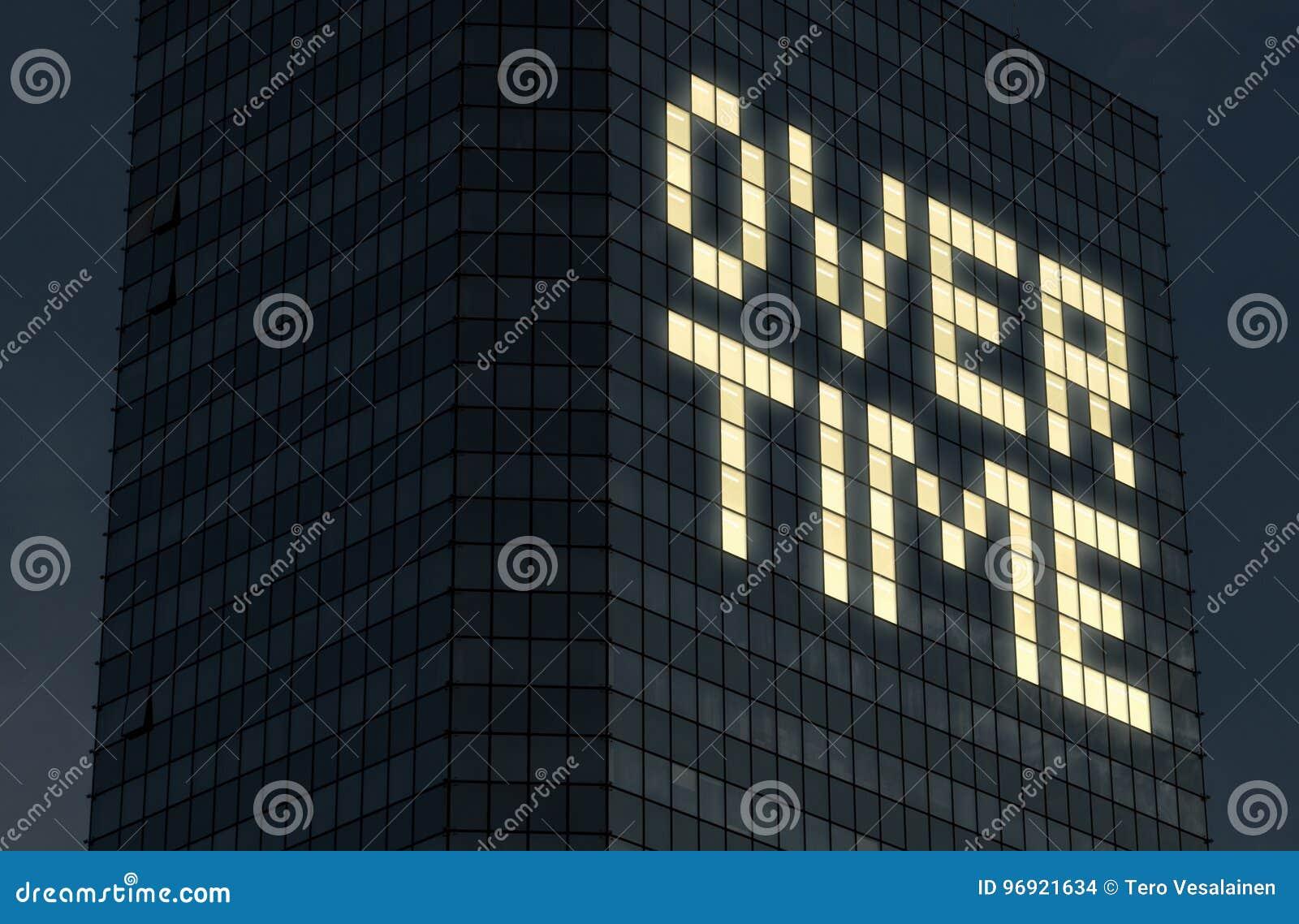 Trabalhando fora do tempo estipulado o conceito Tarde no trabalho e em fazer horas extra Exaustão e pressão do demasiado coisas f