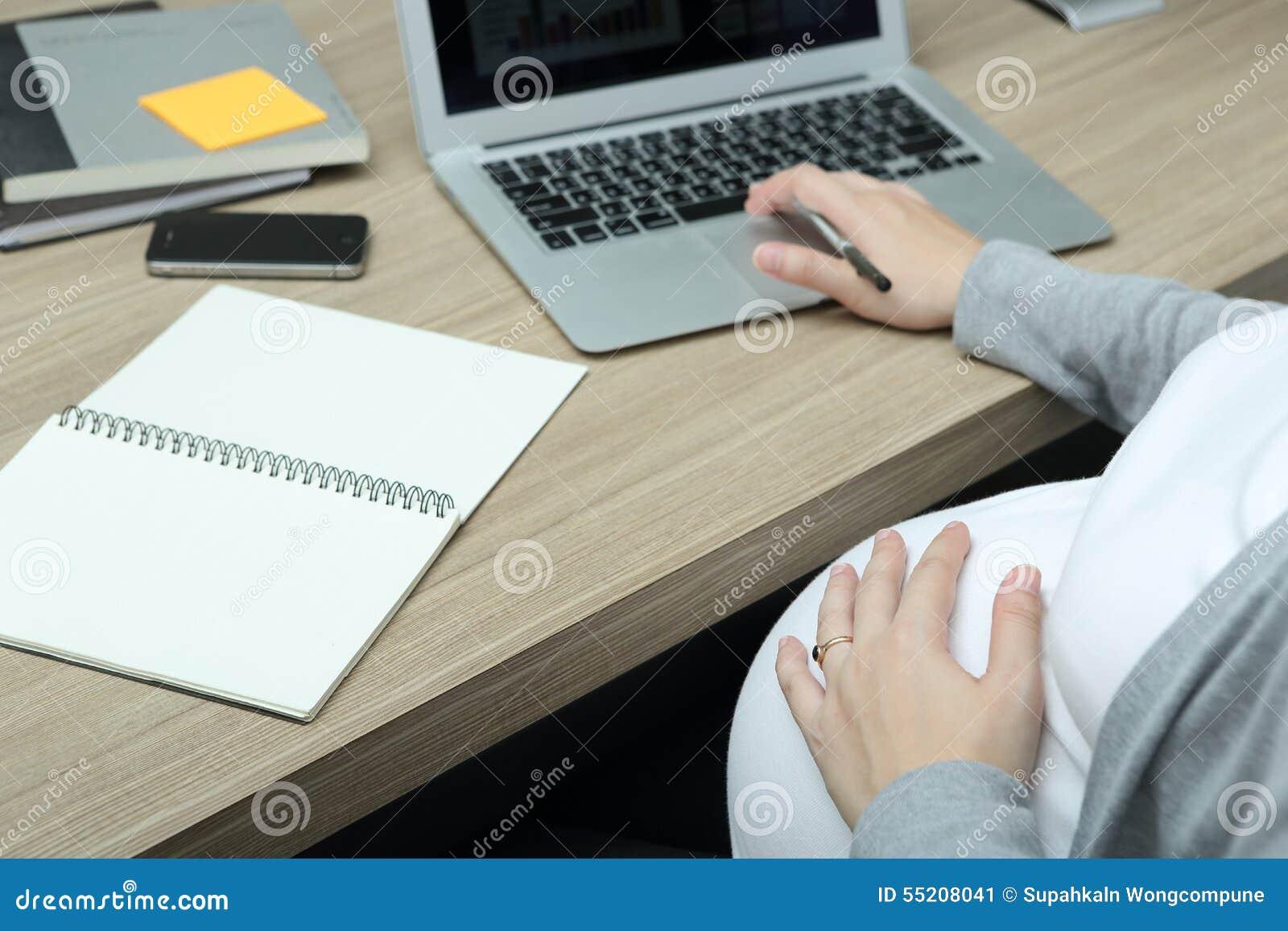 Trabalho durante a gravidez